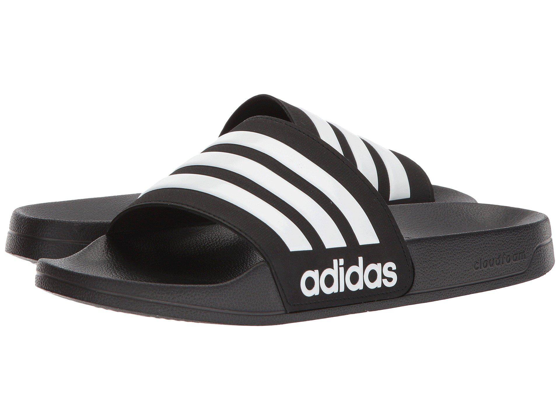 3d449689e3d6c3 Adidas - Adilette Cf (black white black) Men s Slide Shoes for Men. View  fullscreen