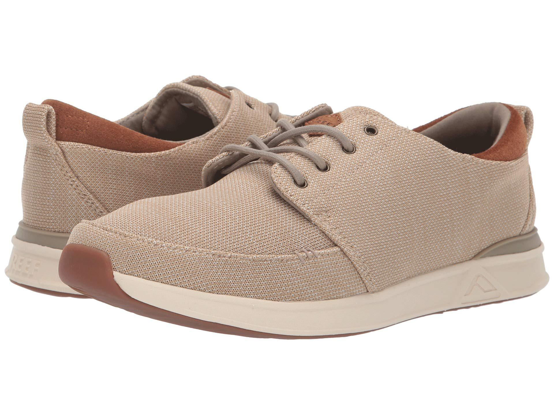 3d18afa140db Lyst - Reef Rover Low Tx (grey heather) Men s Shoes in Natural for ...