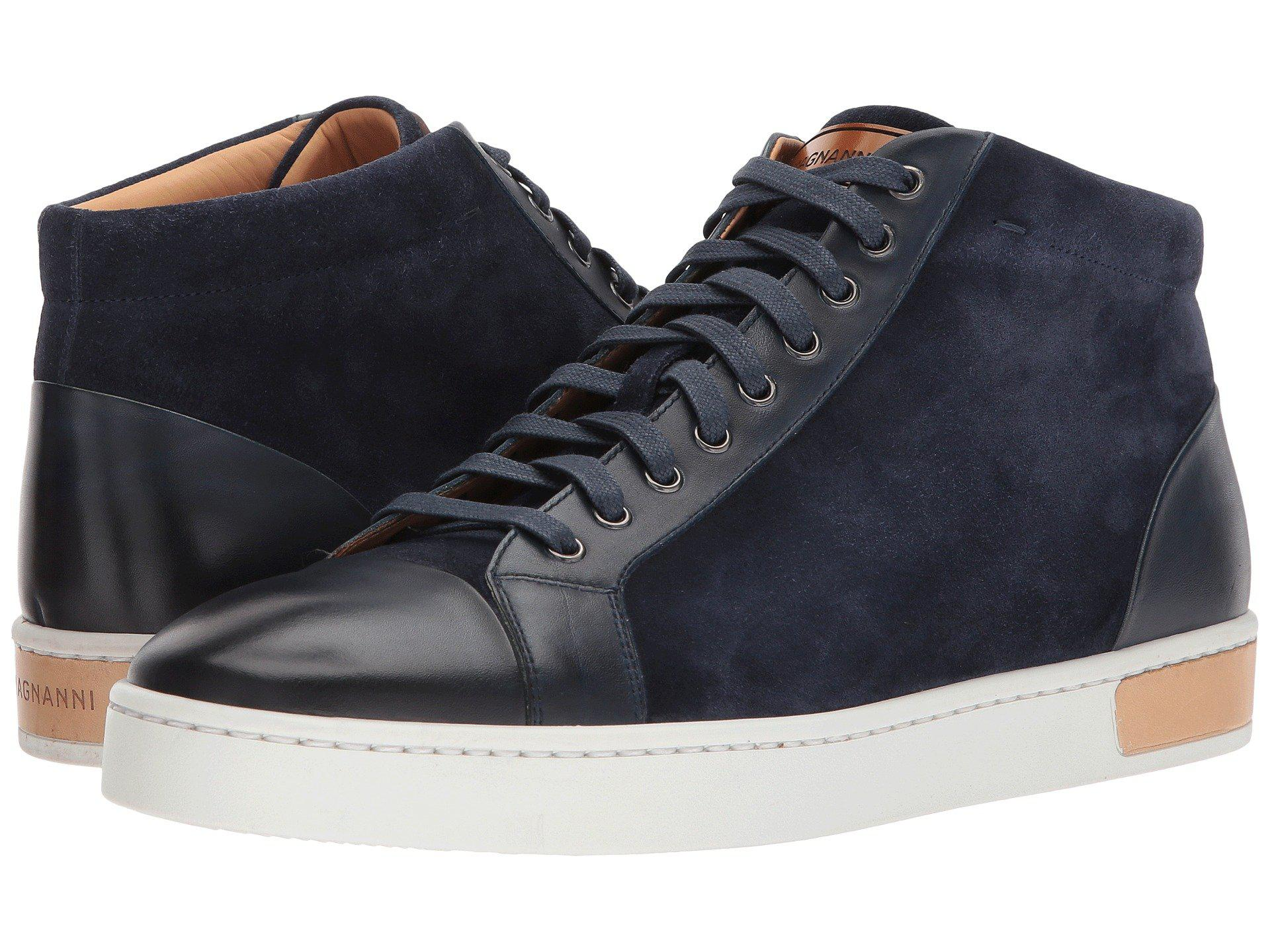 27624d4f4ab60 Lyst - Magnanni Cardiff (navy) Men s Shoes in Blue for Men