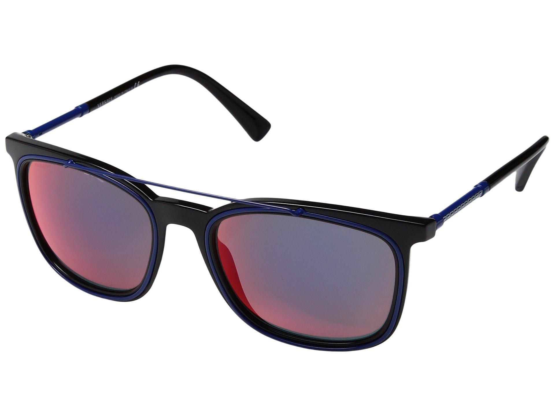 f4ca8ae40a1 Lyst - Versace Ve4335 (black grey Gradient) Fashion Sunglasses in ...