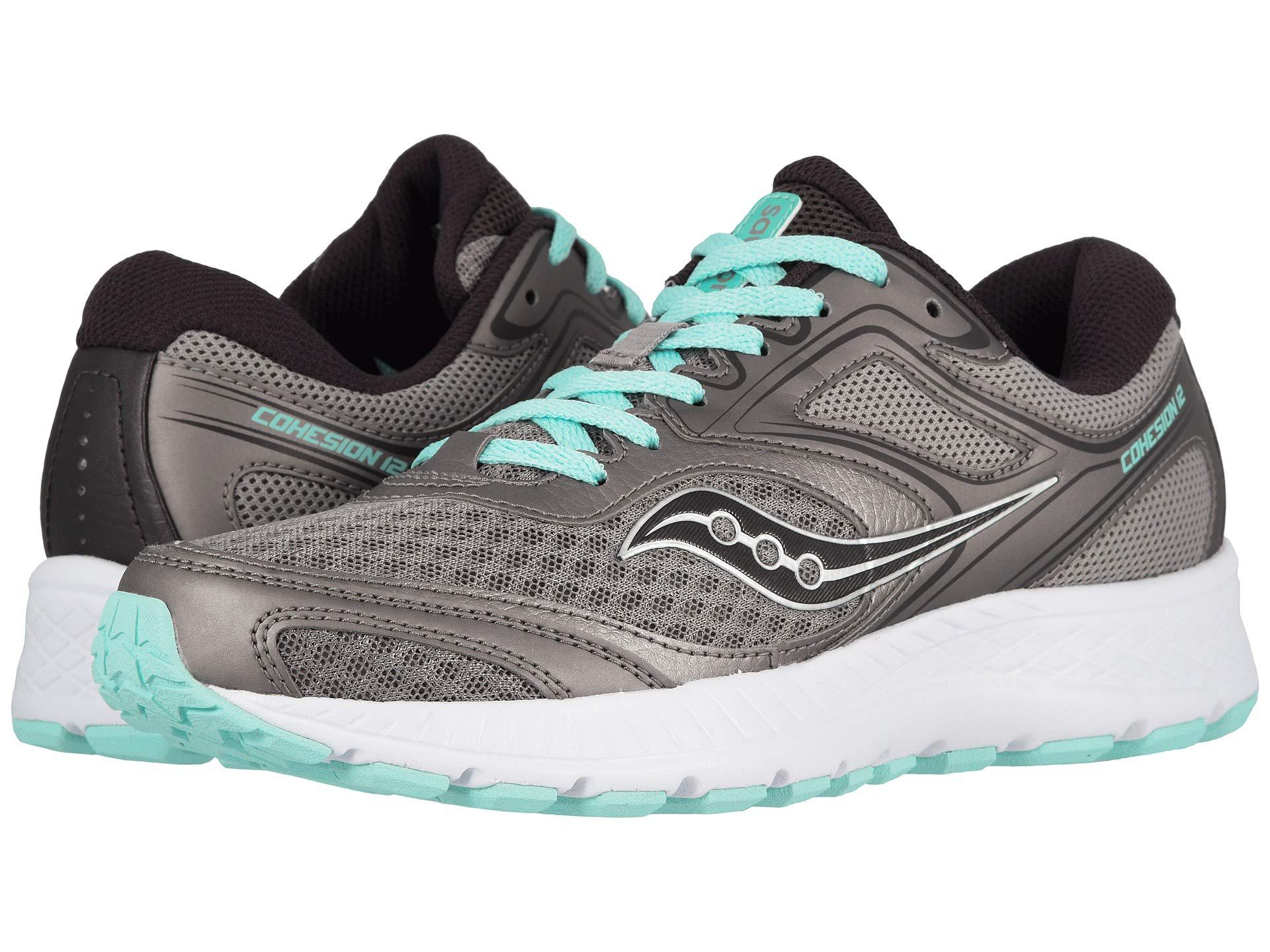 37e3251f4527 Lyst - Saucony Versafoam Cohesion 12 (grey teal) Women s Shoes in Gray