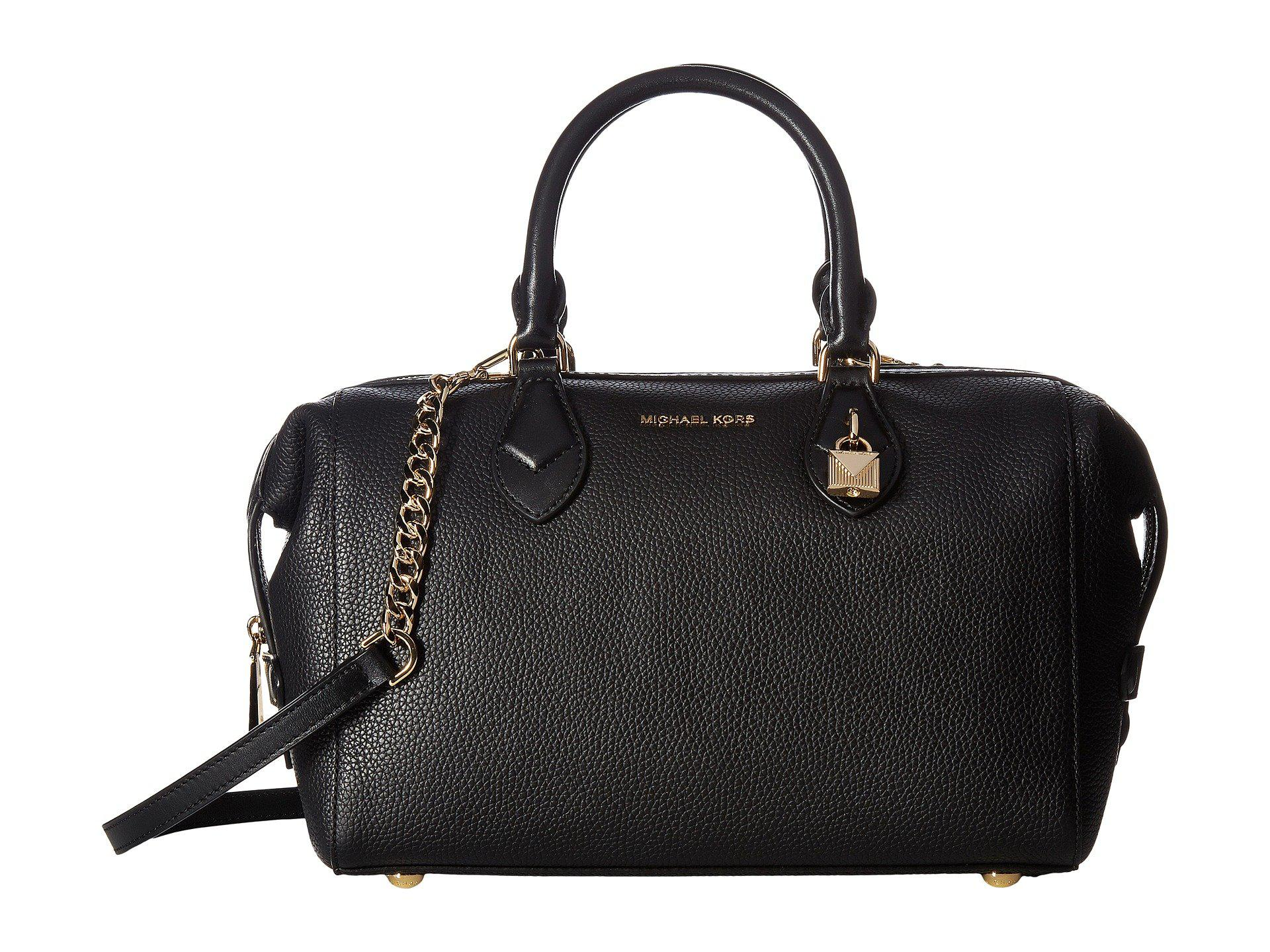 141cac4e2050 ... best price previously sold at zappos womens black satchels womens michael  kors grayson c7ed0 9f3a5