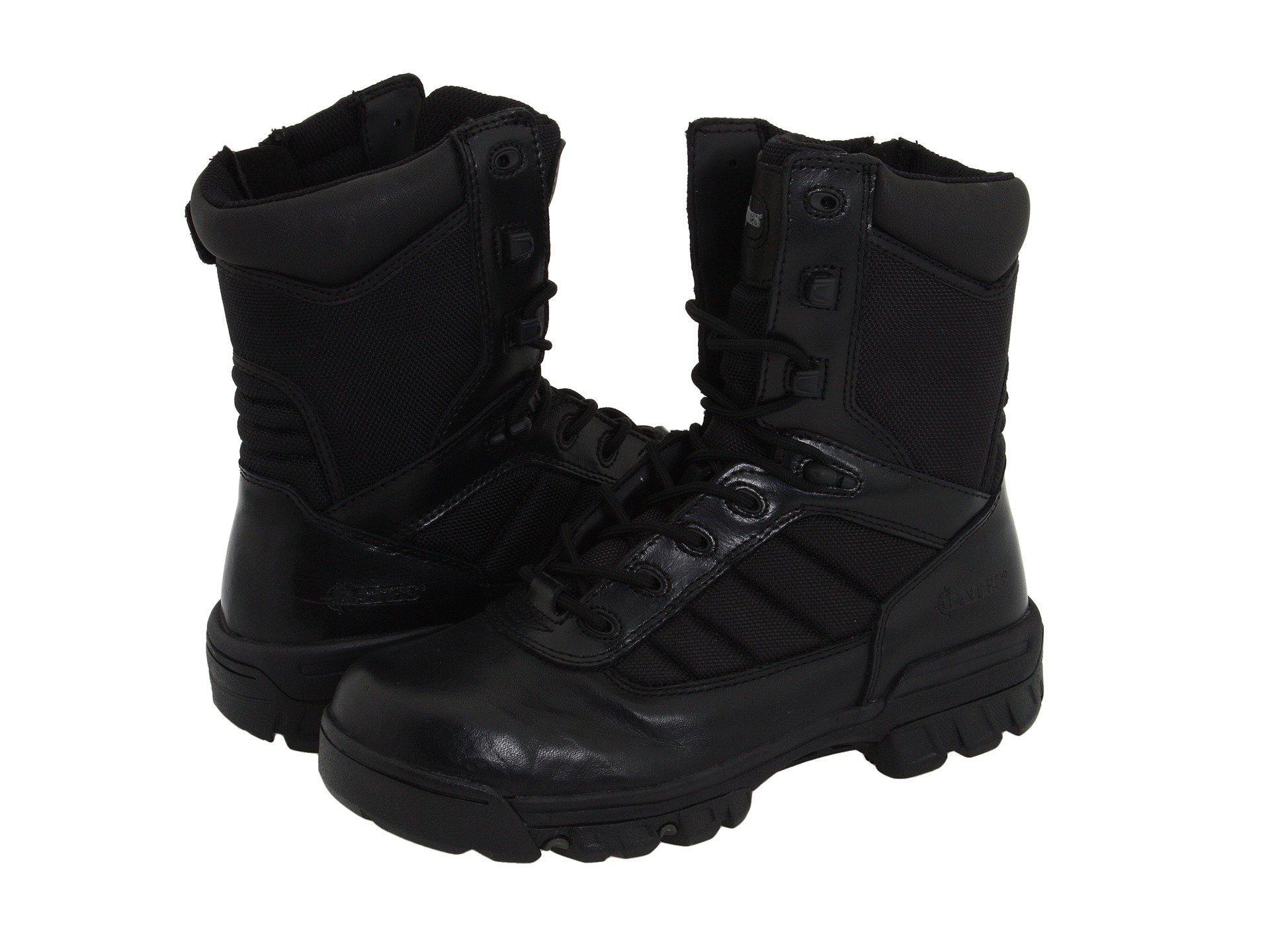 Lyst - Bates Ultra-lites (black Leather) Women s Work Boots in Black 7701e8b13