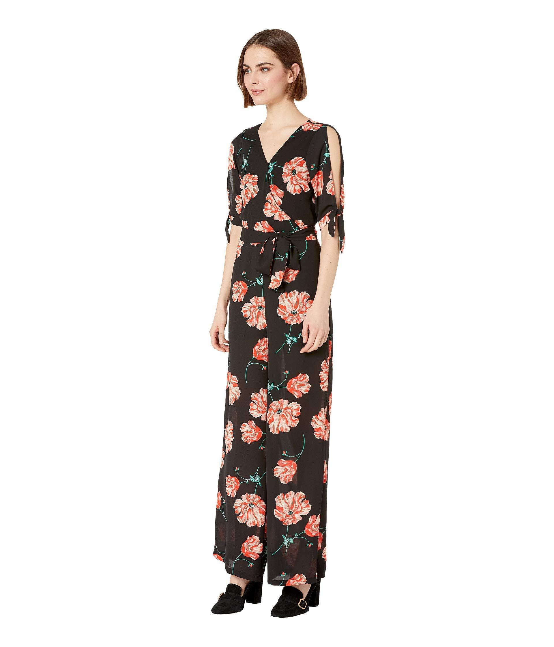95cdf1bfbde7 Lyst - Jack BB Dakota Do You Poppy Printed Jumpsuit (black) Women s Jumpsuit    Rompers One Piece in Black