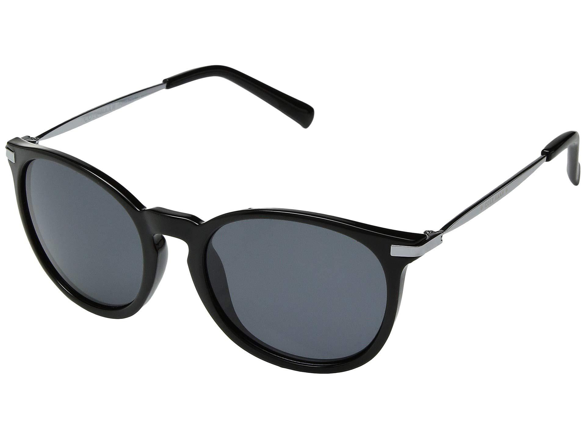2454899e2b Lyst - Cole Haan Ch7023 (crystal Clear) Fashion Sunglasses in Black
