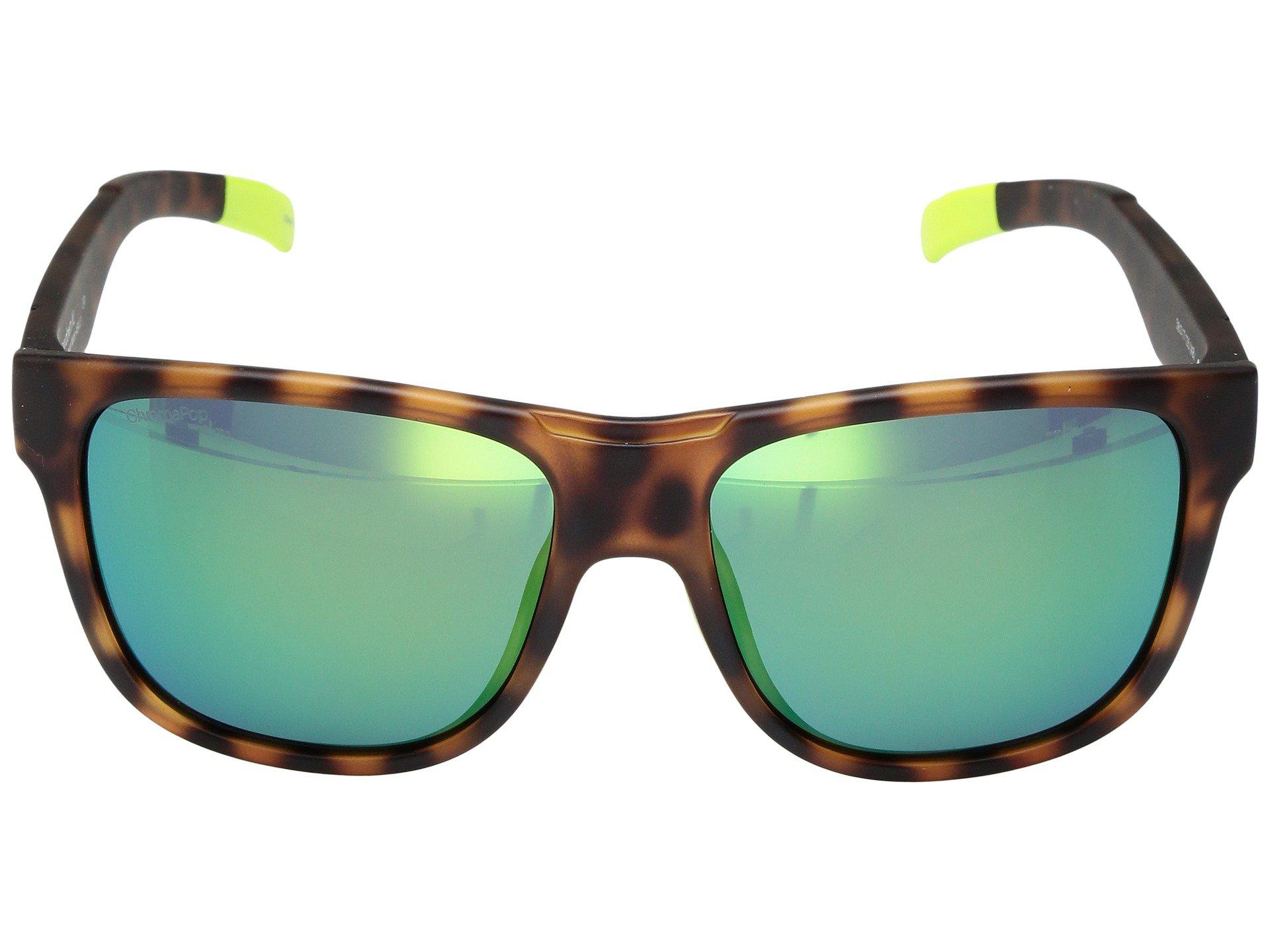 9a899afe8ac4a Smith Optics Lowdown Xl (matte Tortoise Neon chromapop Sun Green ...