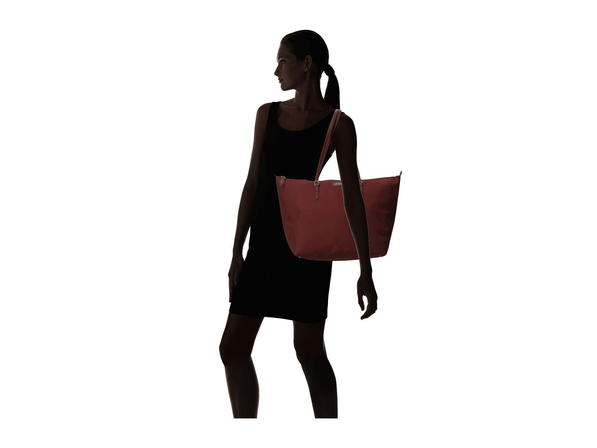 66b3982abf1 Lyst - Lauren by Ralph Lauren Chadwick Tote (merlot) Tote Handbags