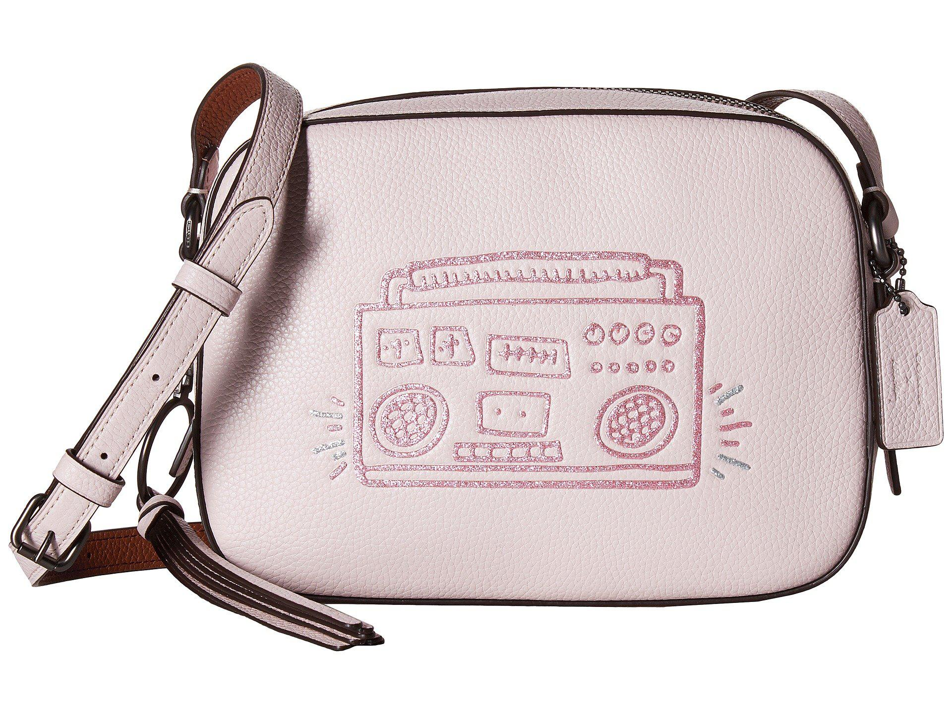 Cross Body Bags - Keith Haring Crossbody Bag Bright Pink - rose - Cross Body Bags for ladies Coach bO5CmdL30