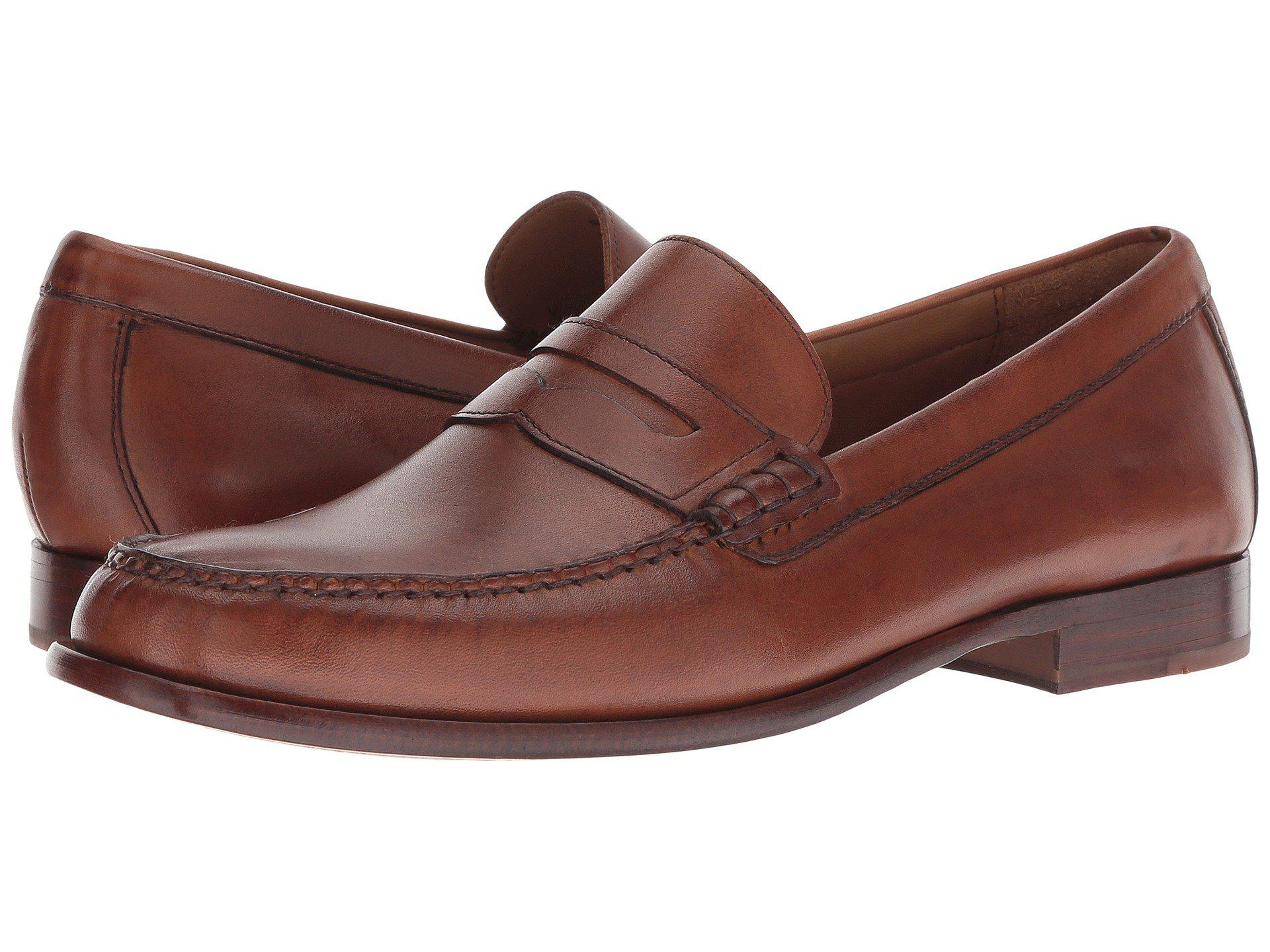 b0ba48c5007 Lyst - Cole Haan Handsewn Penny Loafer (british Tan Handstain) Men s ...