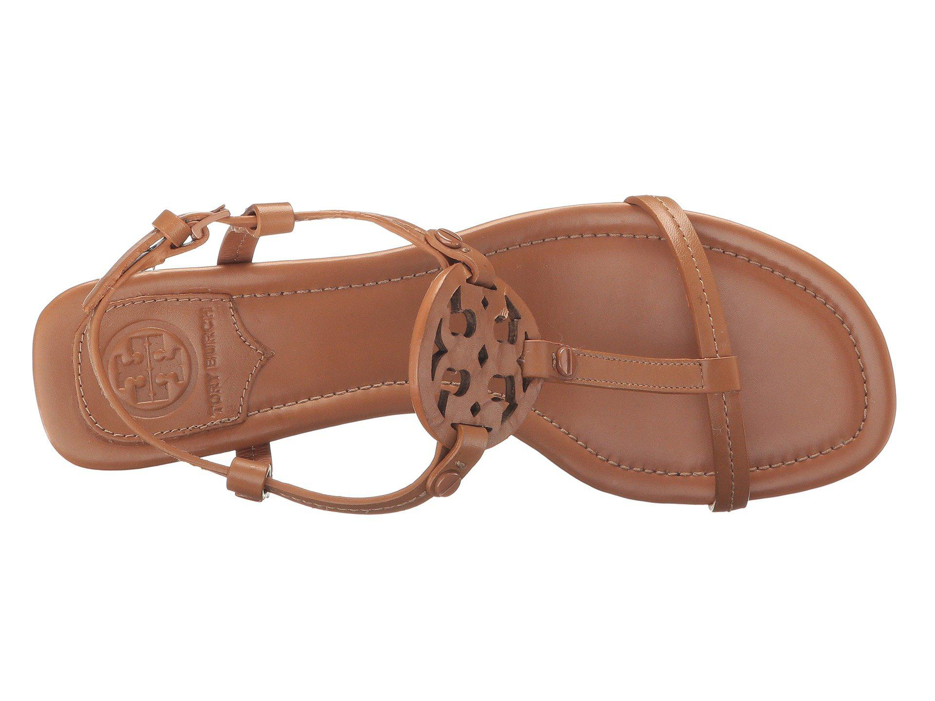 84d886b64 Tory Burch - Brown Miller 55mm Sandal (royal Tan) Women s Sandals - Lyst.  View fullscreen