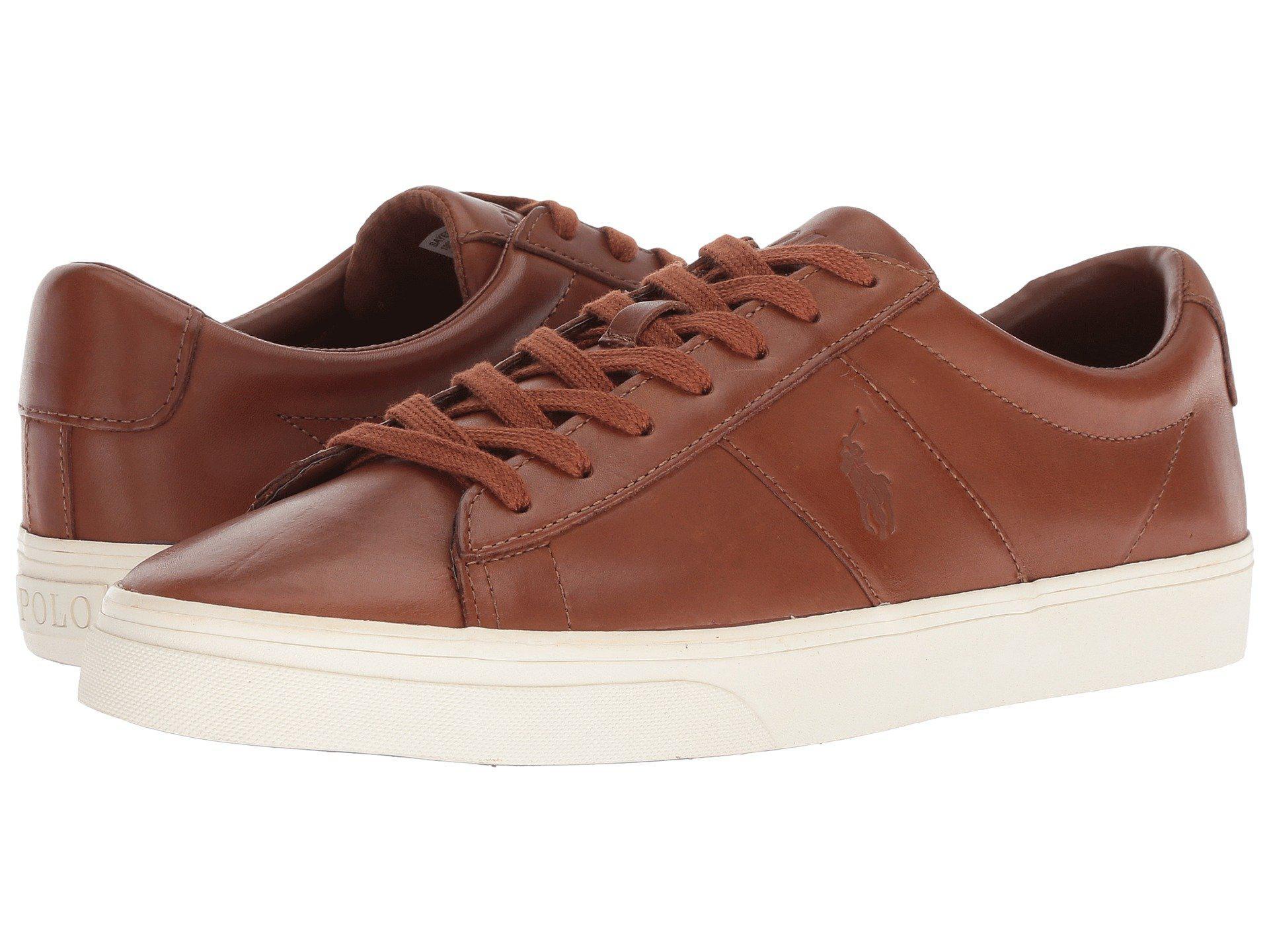 b93f2e84c0f Lyst - Polo Ralph Lauren Sayer (dark Brown) Men s Shoes in Brown for Men