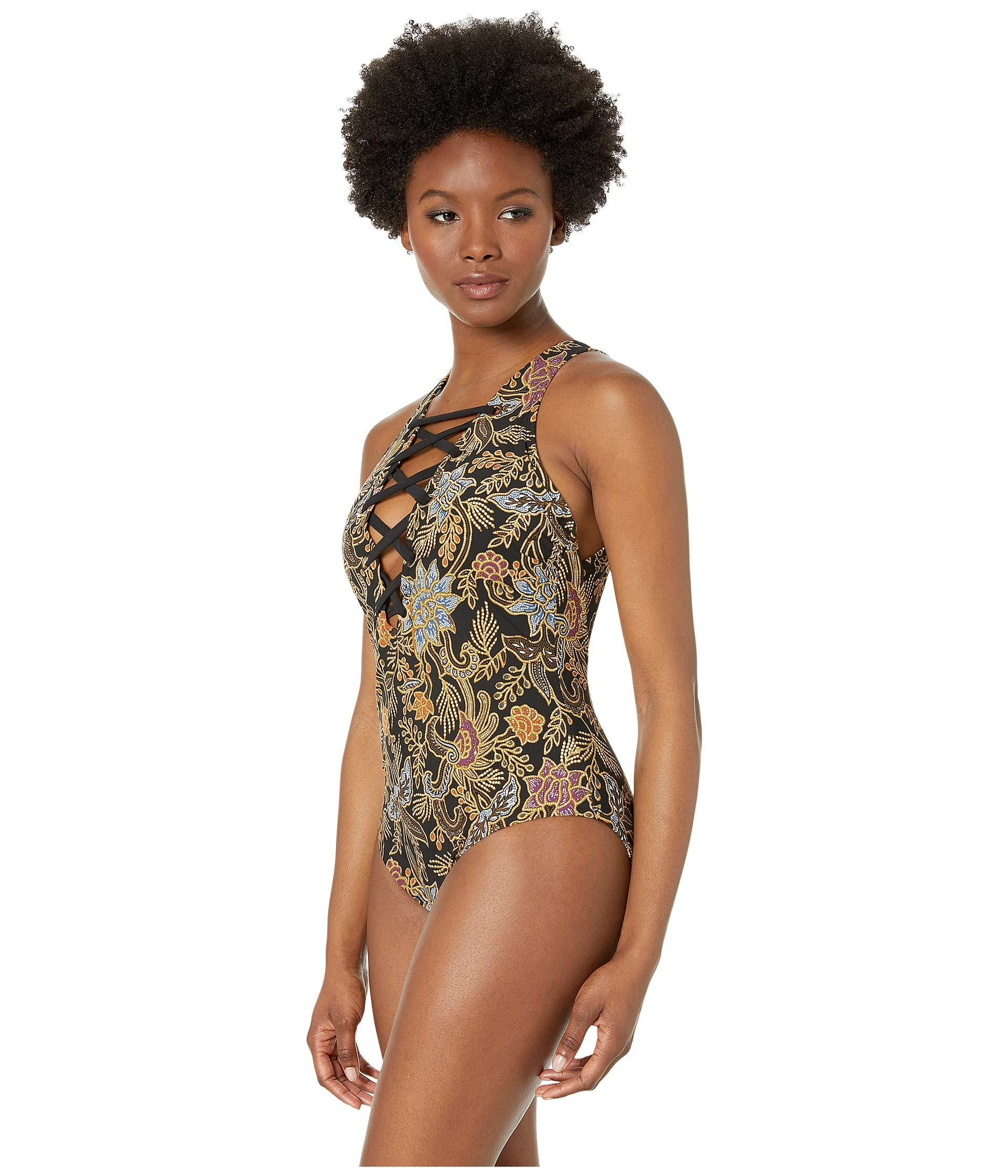 0fdf35ce4a1 Lyst - Miraclesuit Amoressa By Indochine Stevie One-piece (black ...