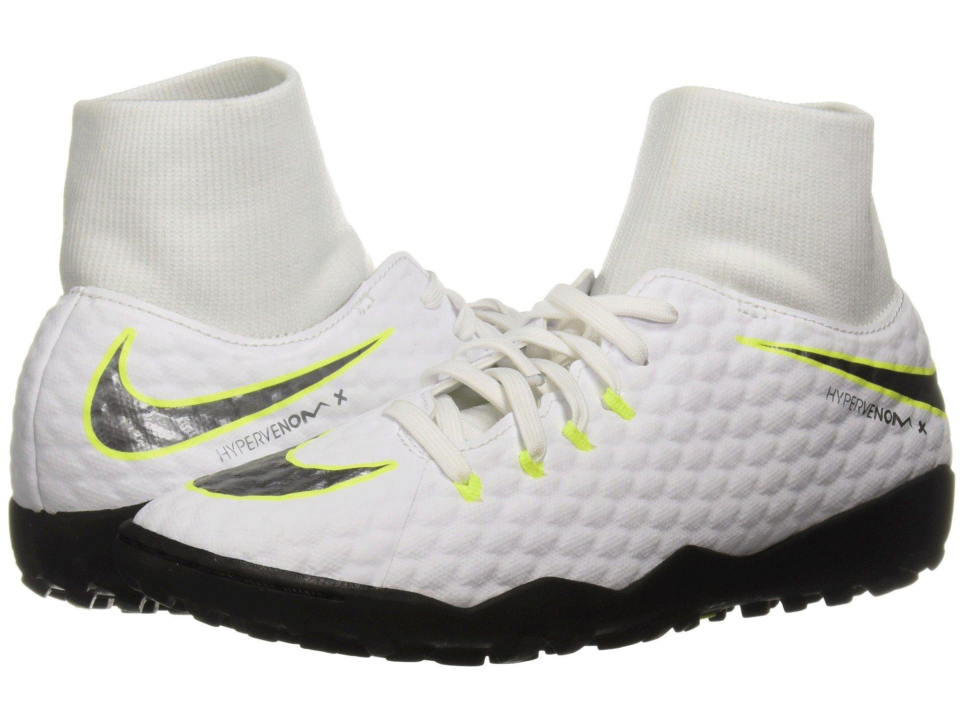 389fab370e Lyst - Nike Hypervenom Phantomx 3 Academy Dynamic Fit Tf in White ...