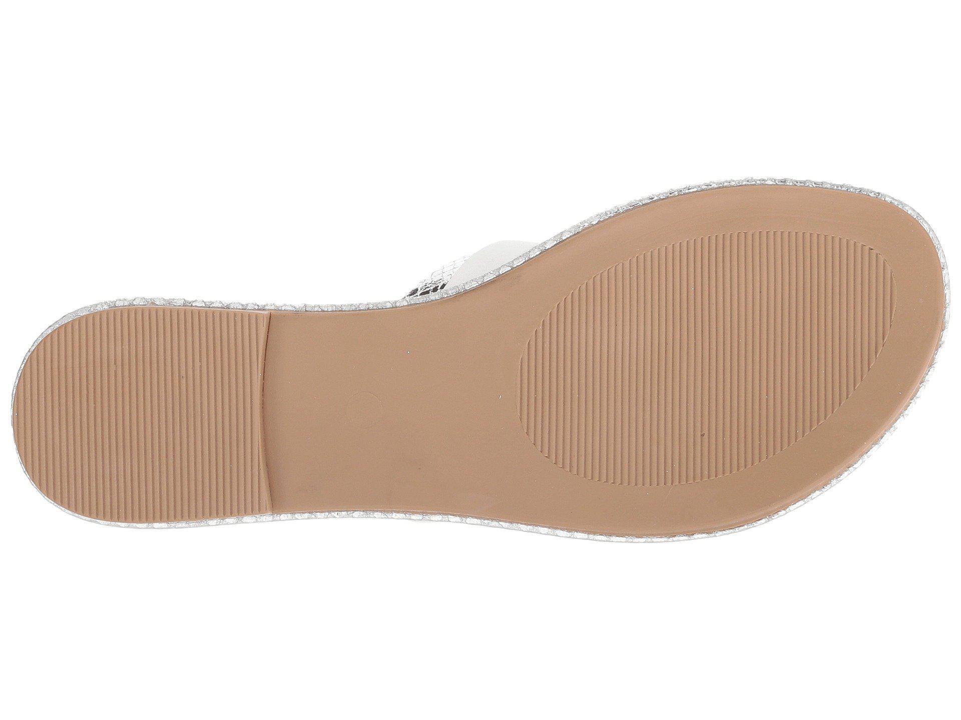 1050efd48ea95b Lyst - Seychelles Publicity (white silver) Women s Sandals