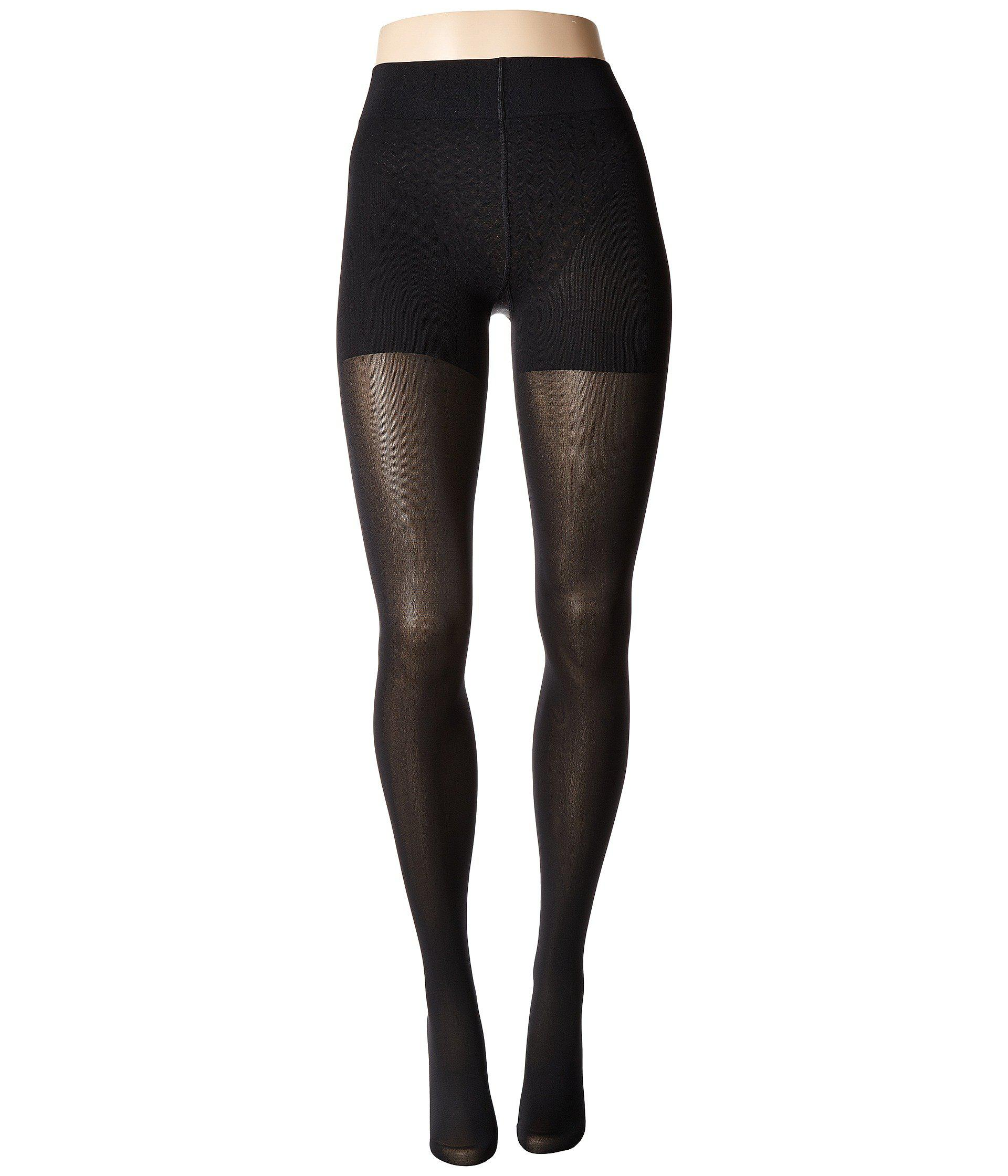 08c65db7904 Lyst - Wolford Velvet De Luxe 66 Control Top Tights (nearly Black ...