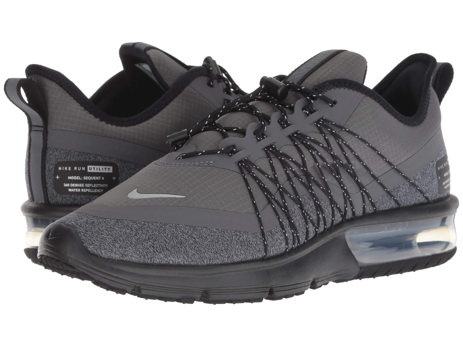 114ceef3126 Nike. Air Max Sequent 4 Shield (dark Grey metallic Silver black) Women s Running  Shoes
