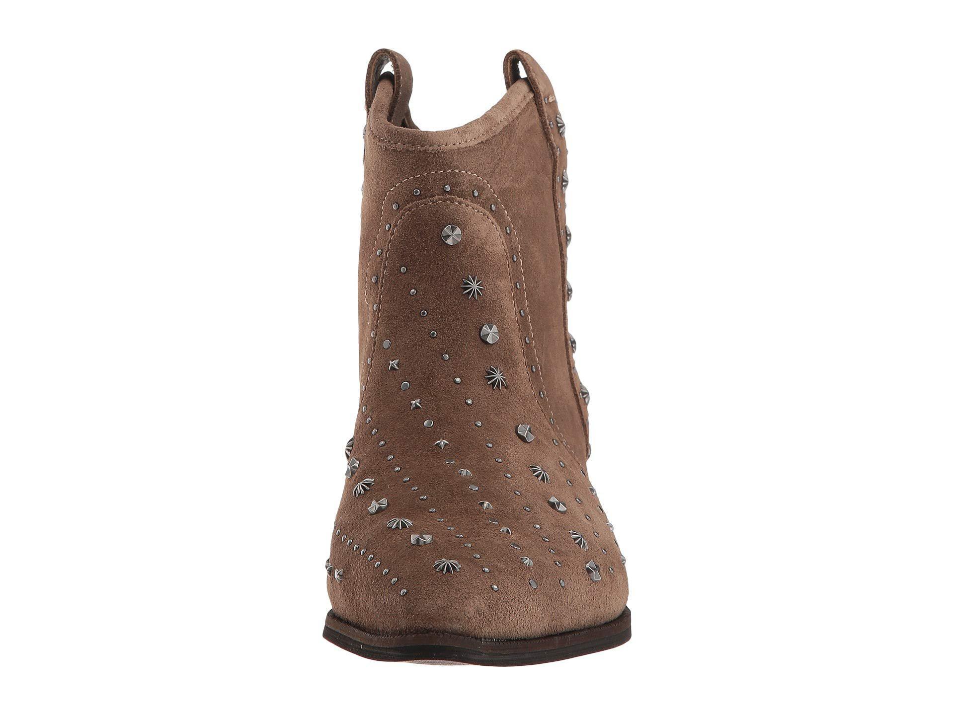 5b0ec3e1219901 Sam Edelman - Brown Brian (dark Taupe Velutto Suede Leather) Women s Shoes  - Lyst. View fullscreen