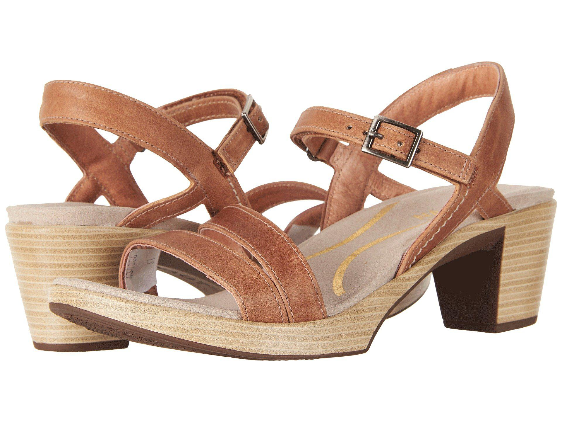 Lyst - Naot Bounty (latte Brown Leather) Women s Shoes in Brown 5c974c9183
