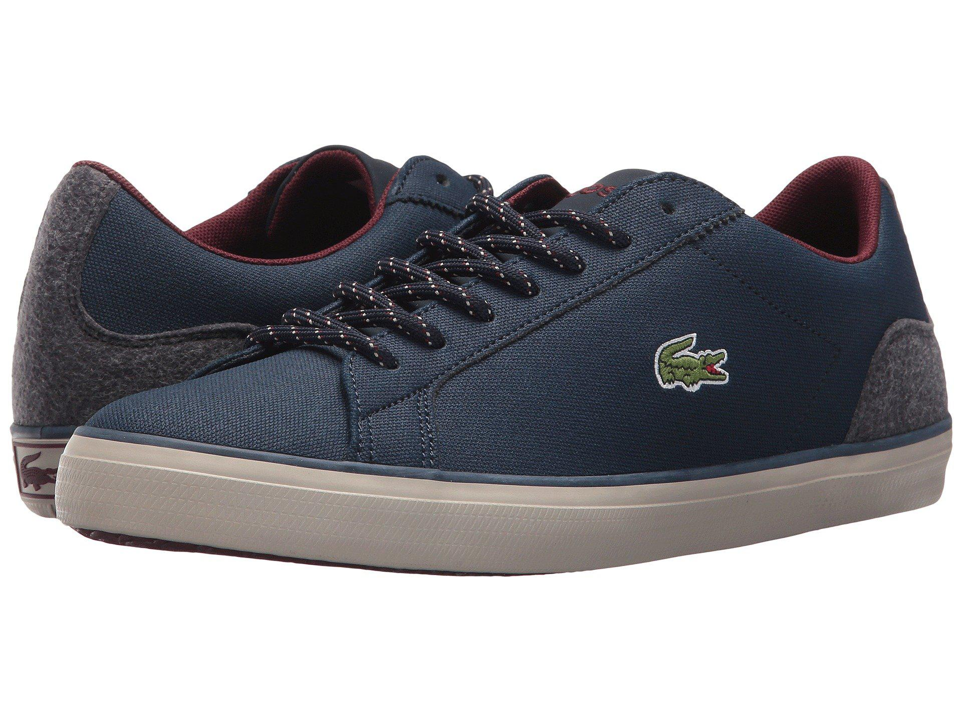 bfd6b4ec5572 Lyst - Lacoste Lerond 417 1 Cam (navy) Men s Shoes in Blue for Men