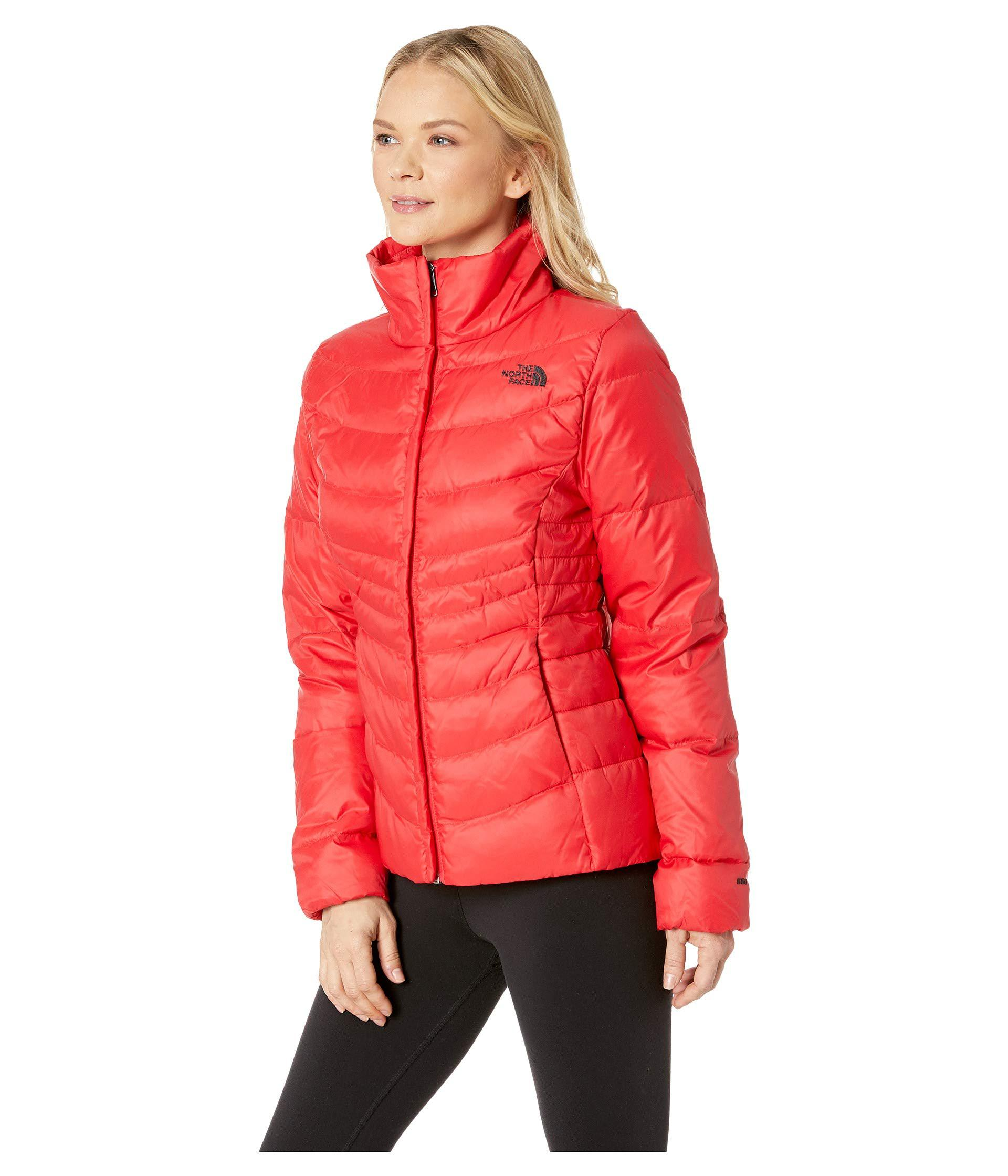 47210d1f9f Lyst - The North Face Aconcagua Jacket Ii (shiny Mid Grey) Women s Coat in  Red