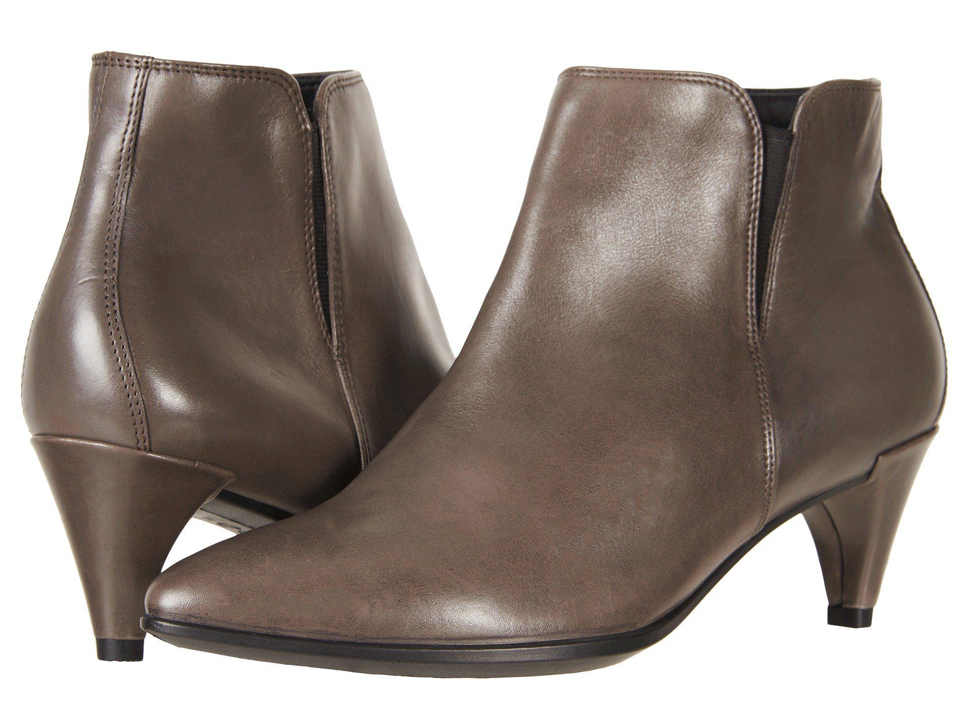 Ecco. Women's Brown Shape 45 Sleek Ankle Boot