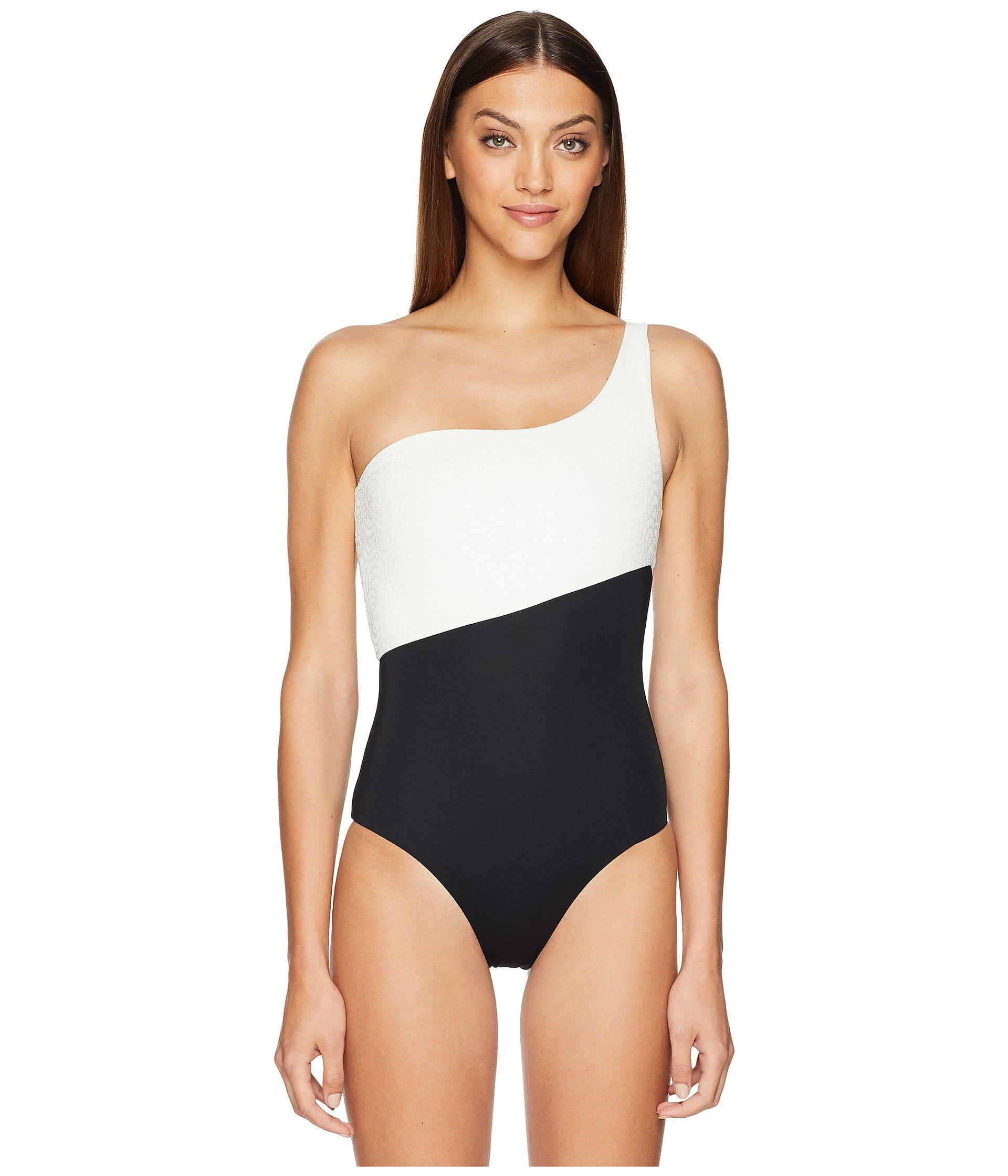 df0eaaa5377e Lyst - Onia Sienna One-piece (white) Women s Swimsuits One Piece in ...