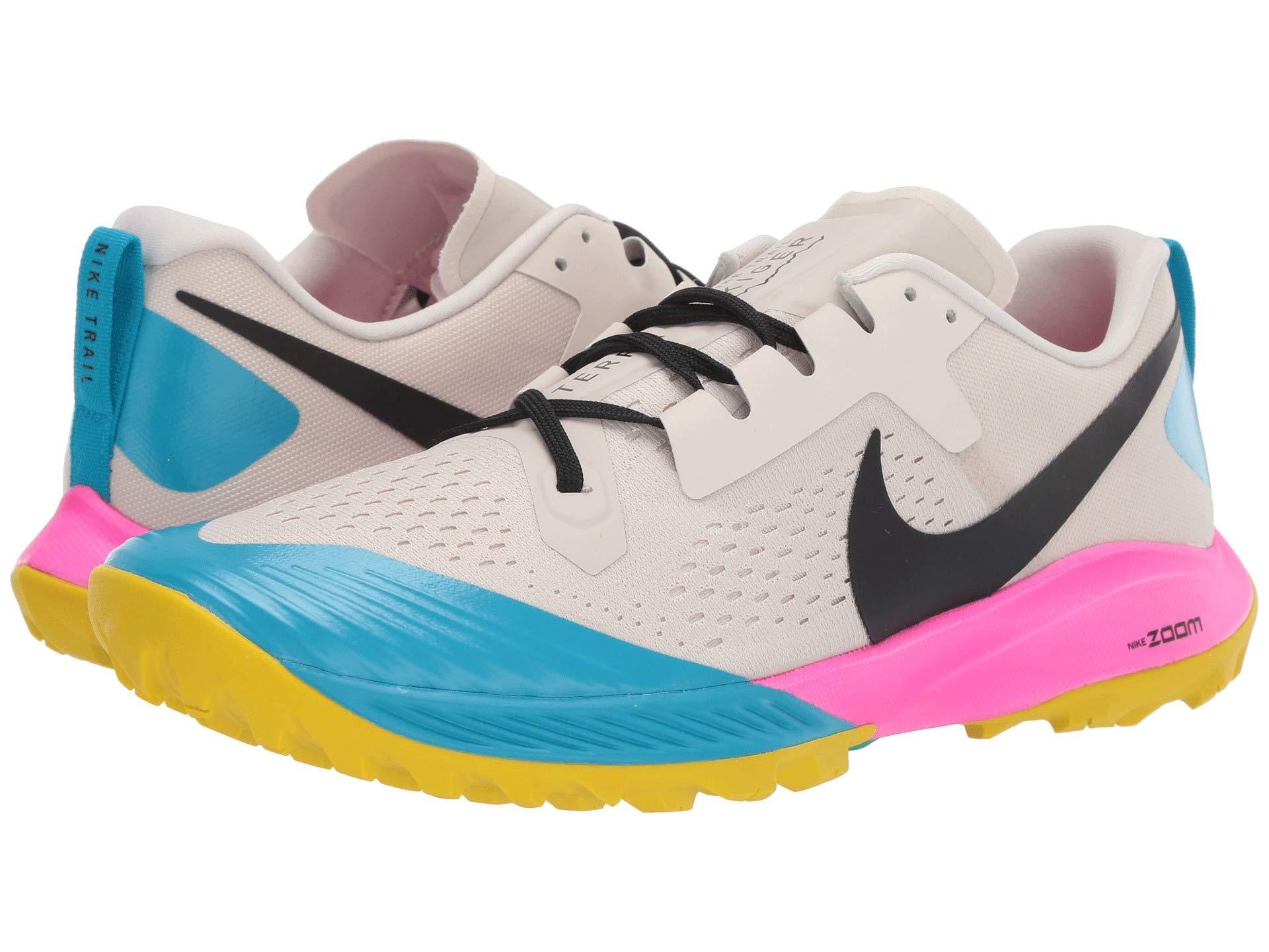 1198c29d954dd Lyst - Nike Air Zoom Terra Kiger 5 (light Orewood Brown black pink ...