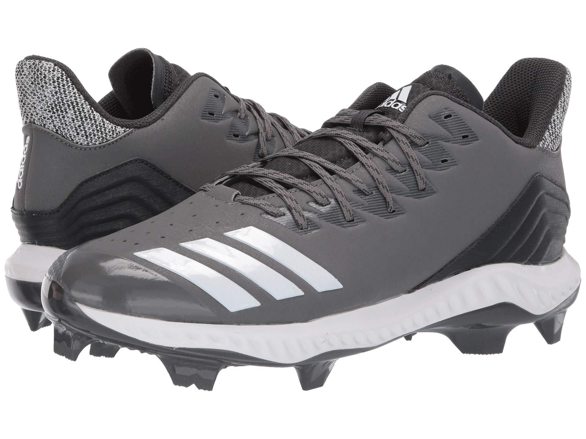 8003e2023b350 adidas. Gray Icon Bounce Tpu (footwear White grey Three F17 grey Two F17) Men s  Cleated Shoes