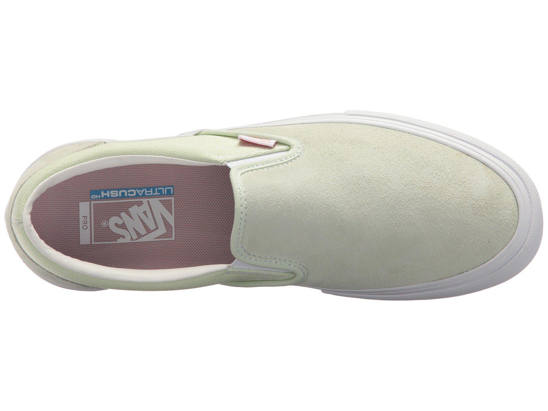 cfdec79fbbe560 Lyst - Vans Slip-on Pro ((independent) Black white) Men s Skate ...