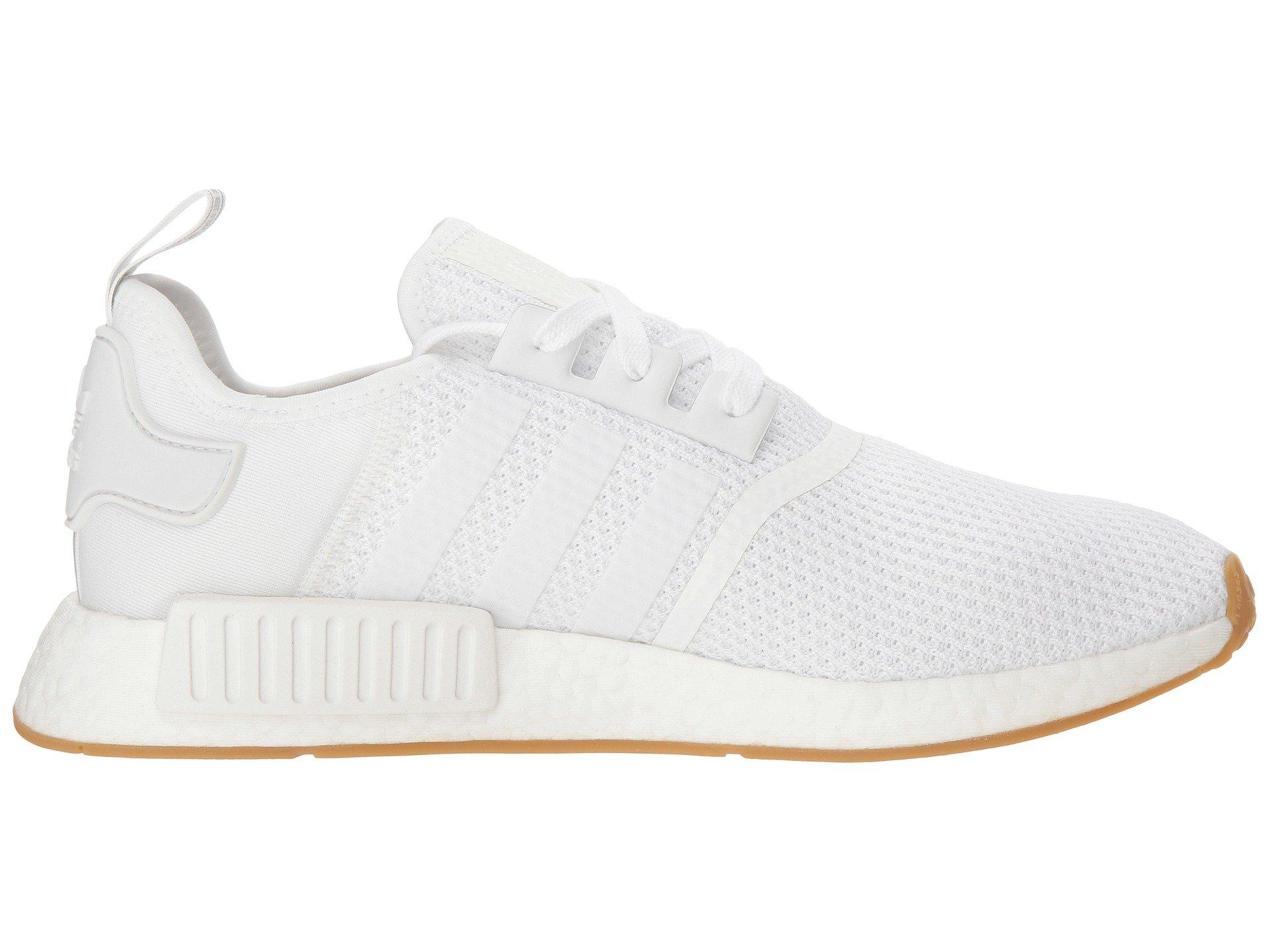 cde79b9f9b Lyst - adidas Originals Nmd r1 (grey Four F17 grey Four F17 shock Red)  Men s Running Shoes in White for Men
