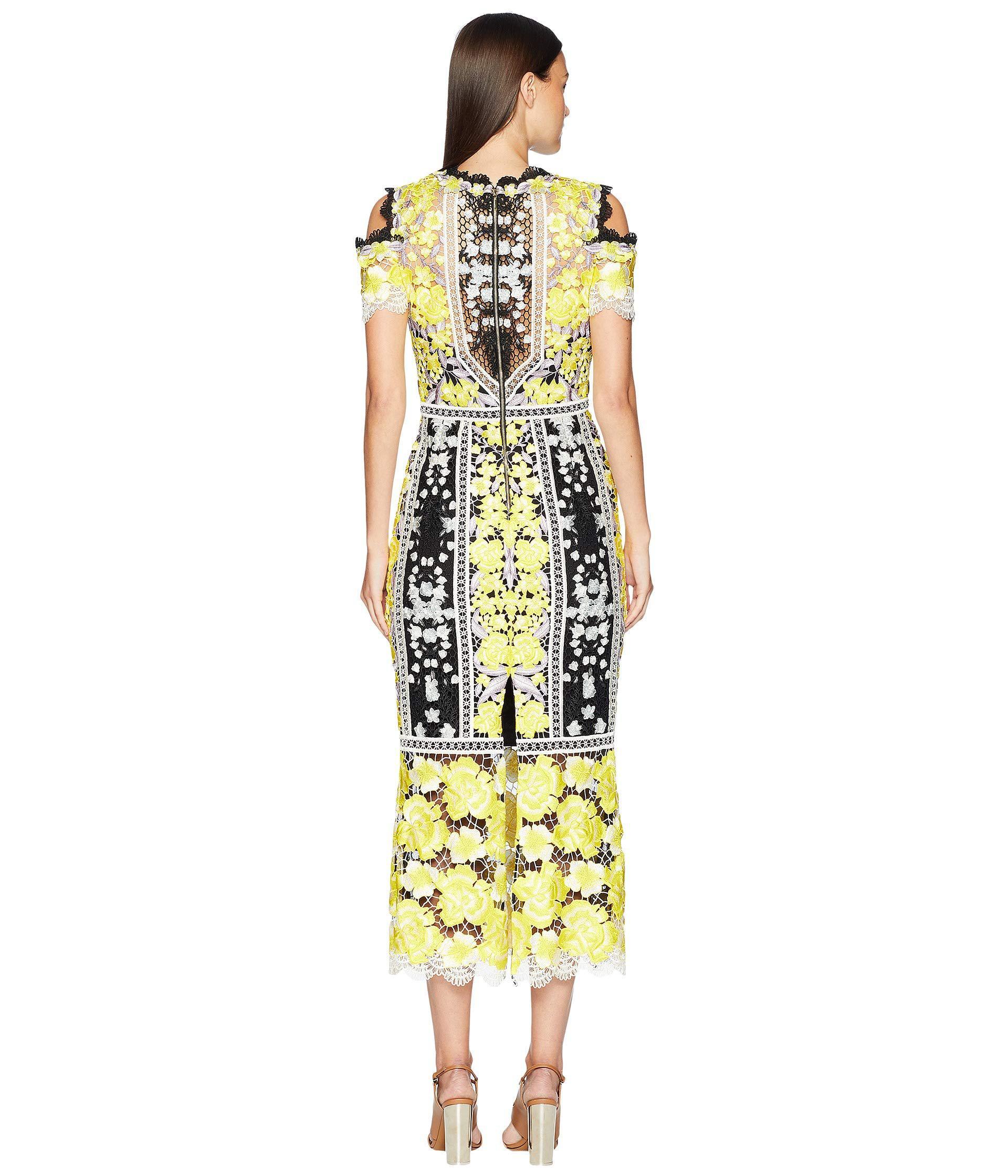 469d08e081 Marchesa Notte Lace Tea Length Cocktail Dress - Data Dynamic AG