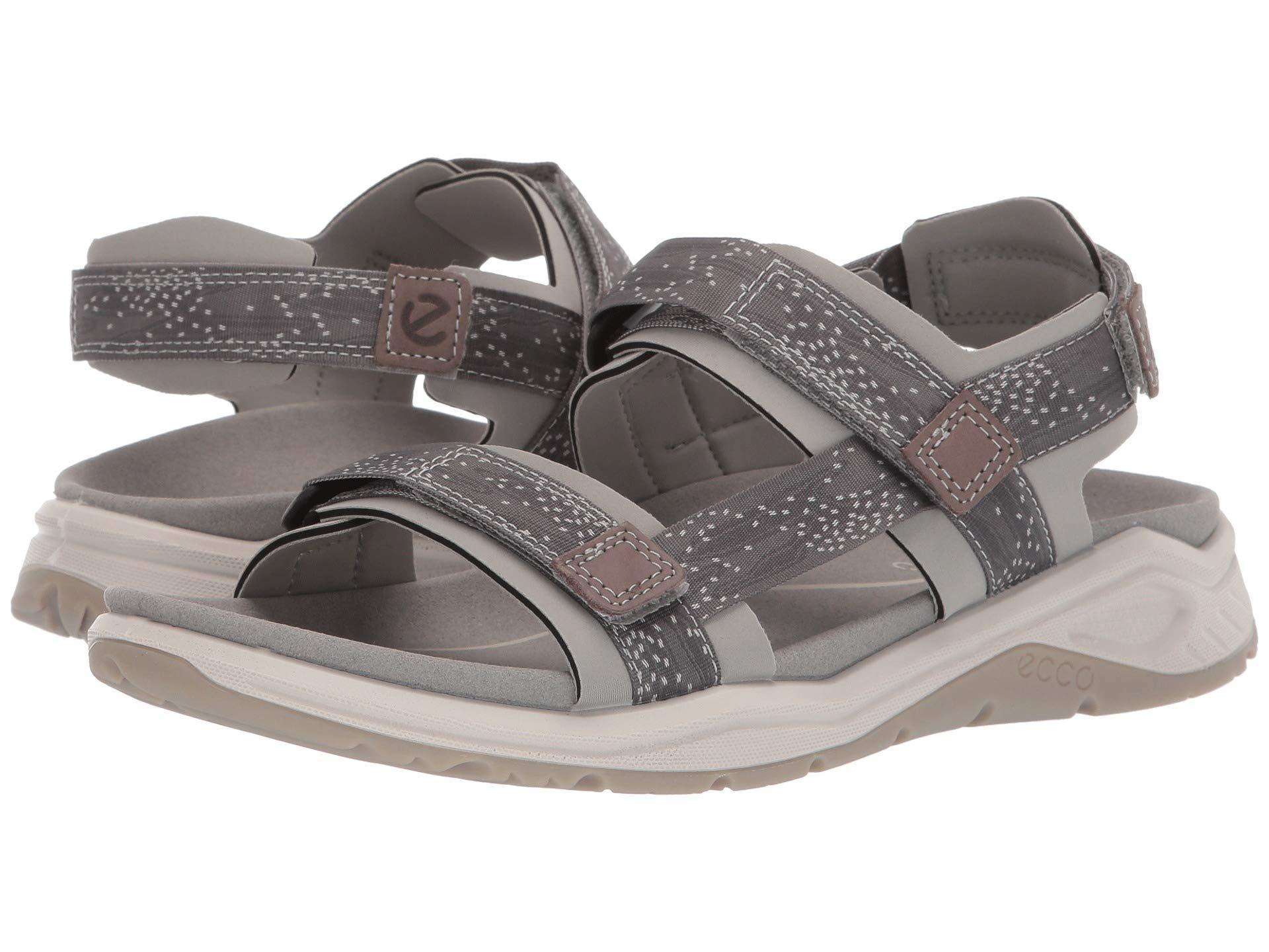 e66be00e8fa1b1 Lyst - Ecco X-trinsic Strap Sandal (black teaberry) Women s Sandals ...