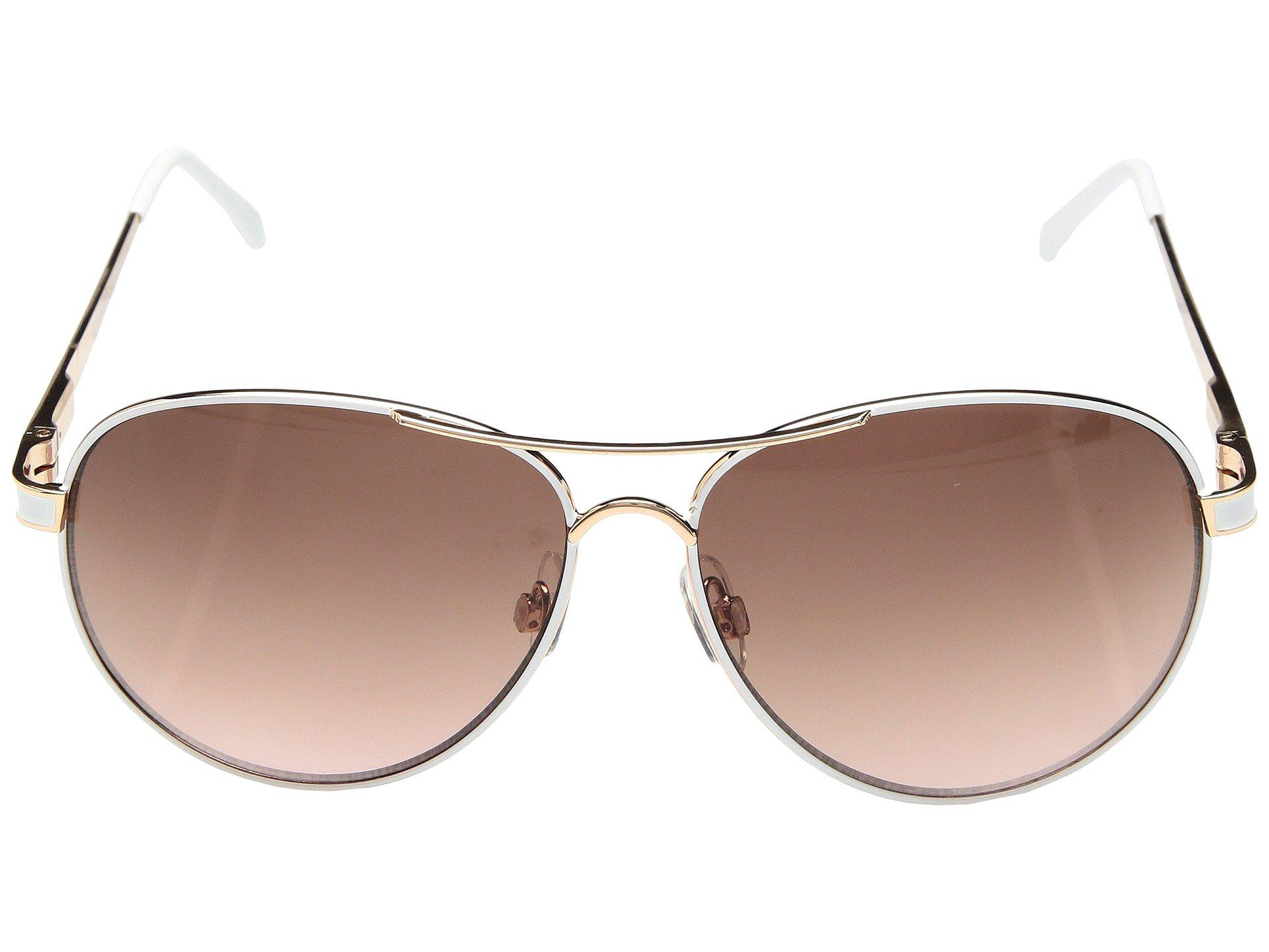 7d04c2e8982f1 Steve Madden - Multicolor Lauren (gold black) Fashion Sunglasses - Lyst.  View fullscreen