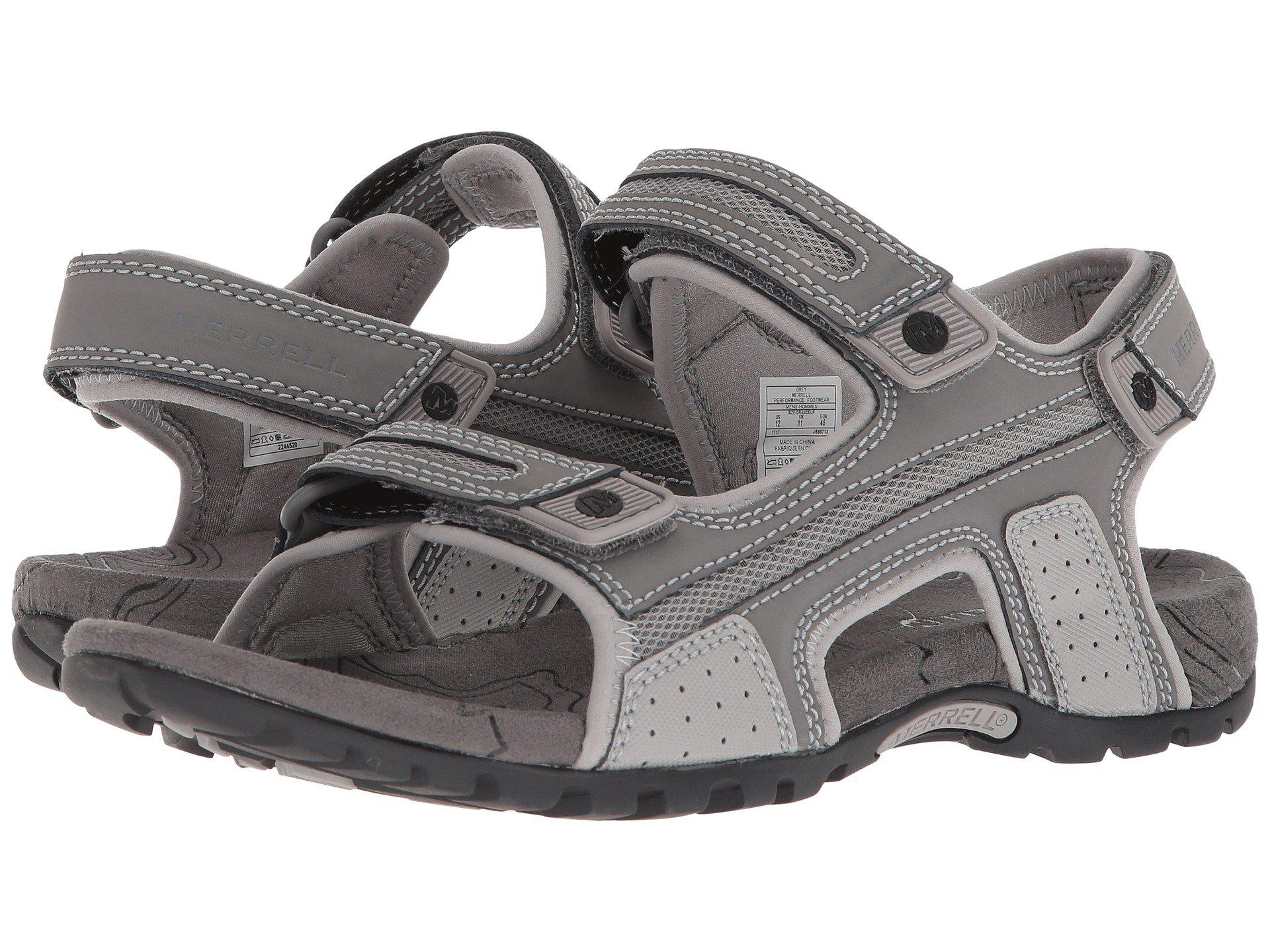 4c59265a2bc5 Lyst - Merrell Sandspur Oak (grey) Men s Shoes in Gray for Men