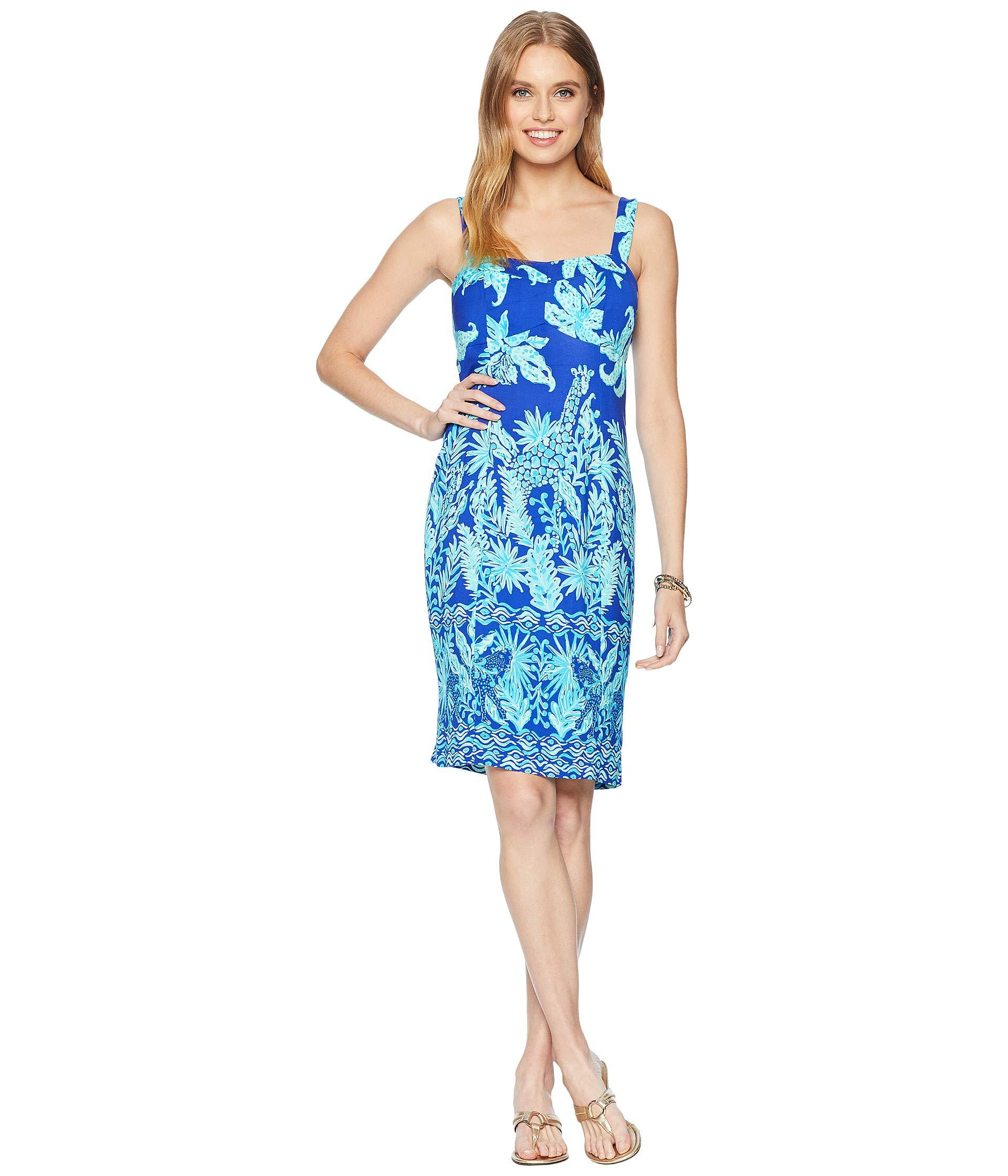 a995252ee057 Lyst - Lilly Pulitzer Annalee Stretch Dress (royal Purple Jungle ...