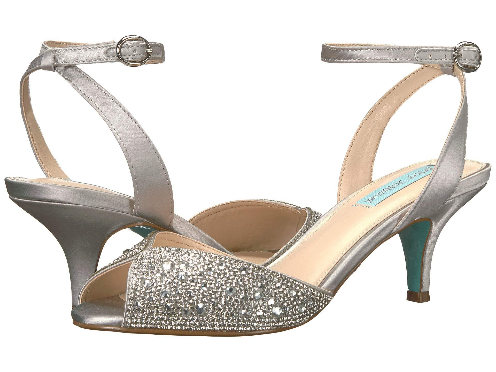 00618f78fc5 Lyst - Betsey Johnson Royal (silver) High Heels in Metallic