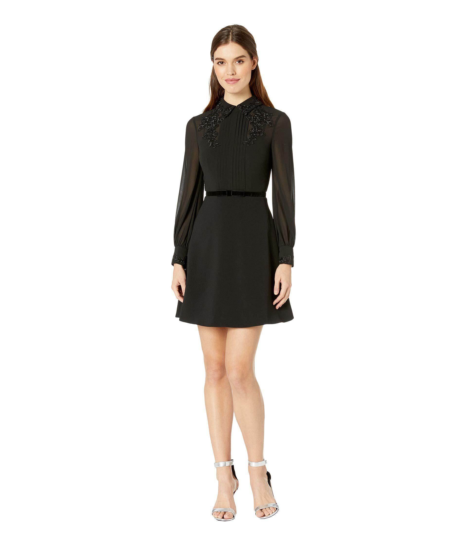 0af2bd12d445 Ted Baker - Amaali Lace Applique Tunic Dress (black) Women s Dress - Lyst.  View fullscreen