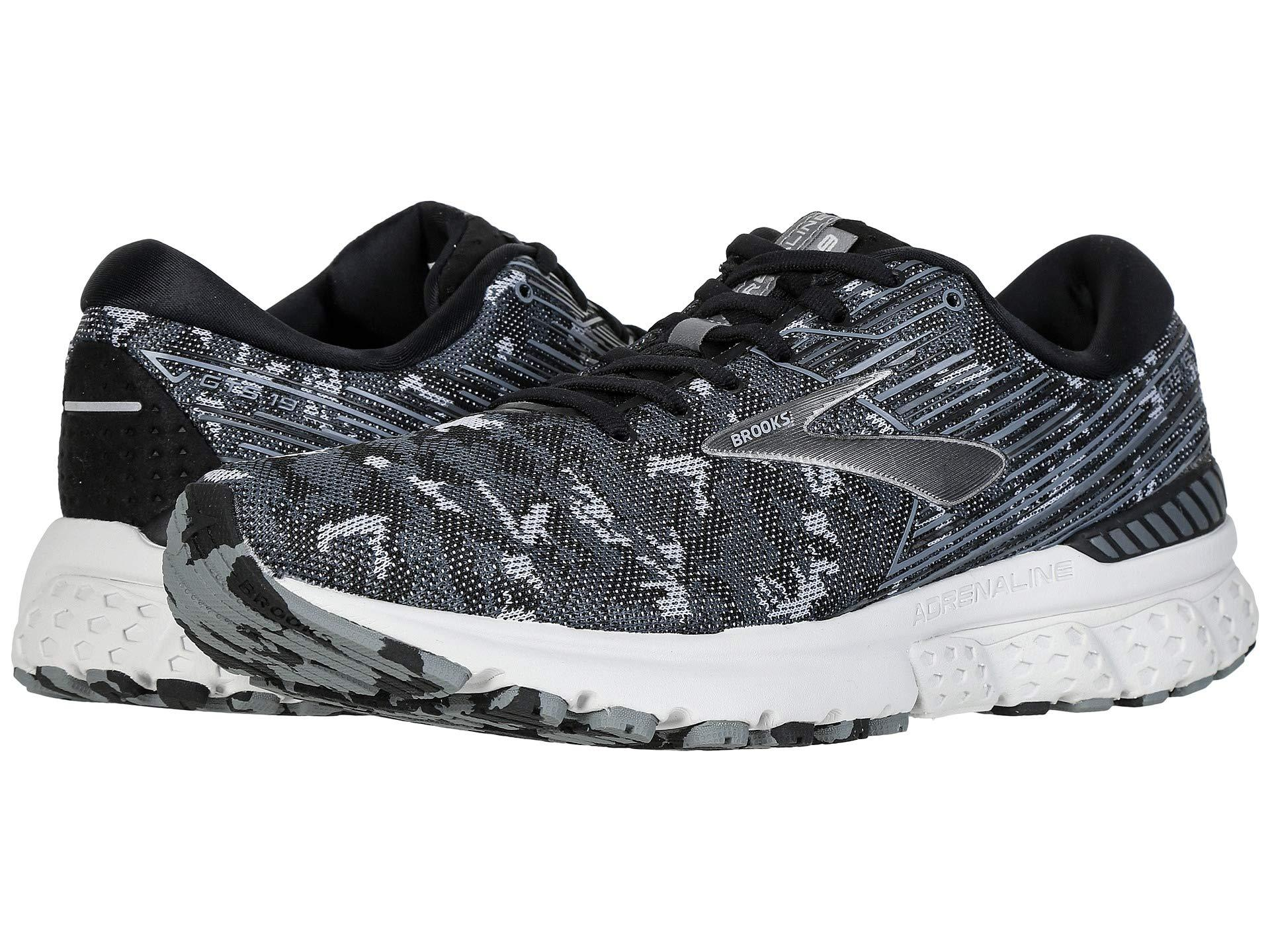 7a9c3de059055 Brooks - Black Adrenaline Gts 19 (white grey navy) Men s Running Shoes.  View fullscreen