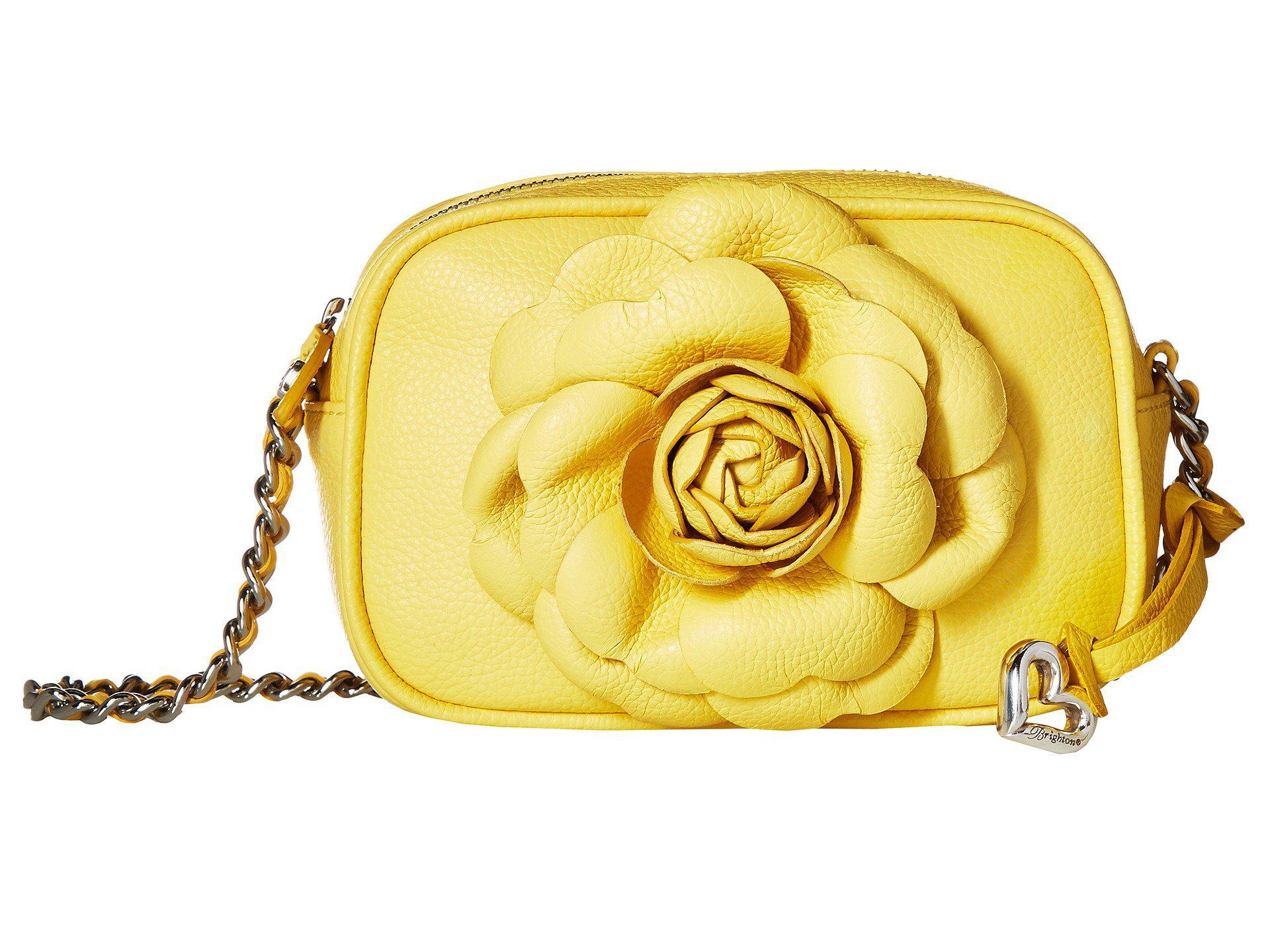 Lyst - Brighton Rosie Mini Camera Bag in Yellow 564d6315e8