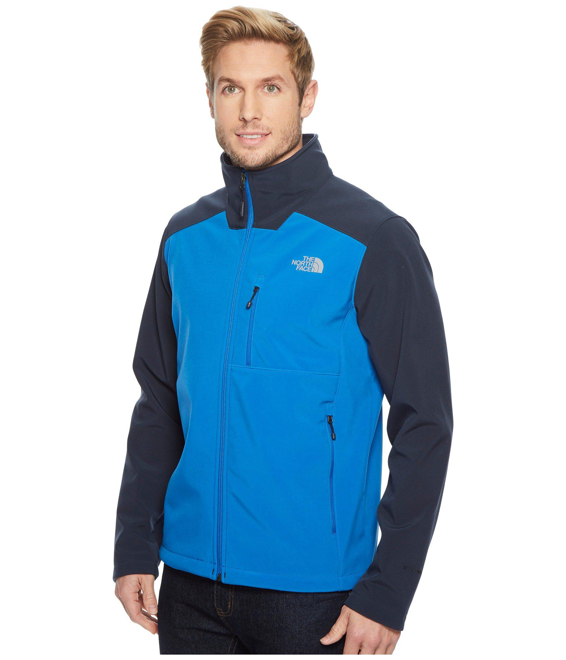 032b4451e3 Lyst - The North Face Apex Bionic 2 Jacket (rage Red rage Red) Men s Coat  in Blue for Men