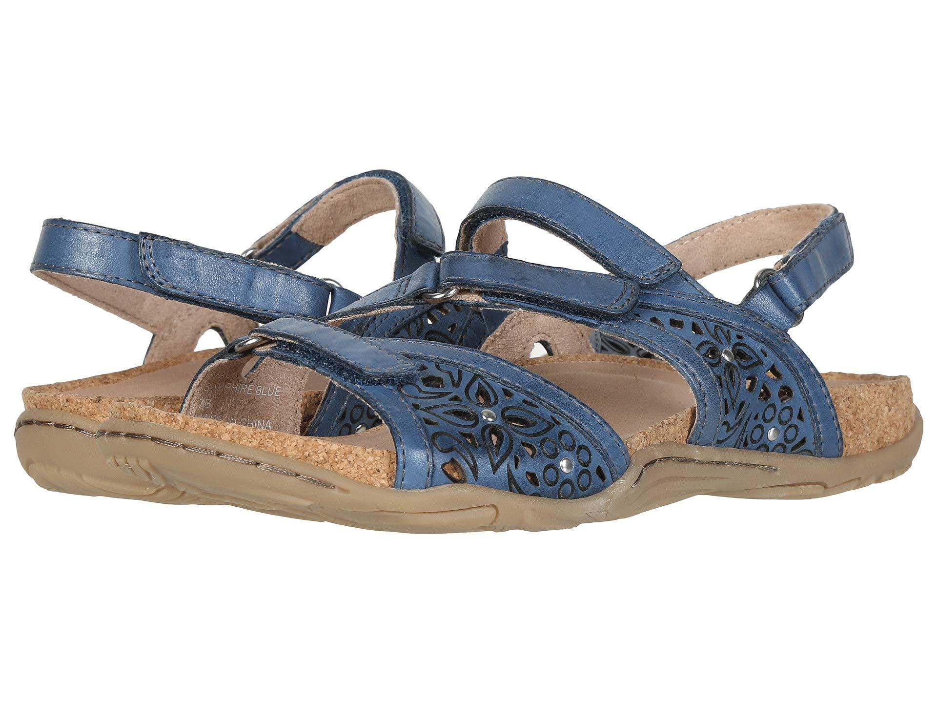 05adfede306b44 Lyst - Earth Maui (black Soft Leather) Women s Shoes in Blue