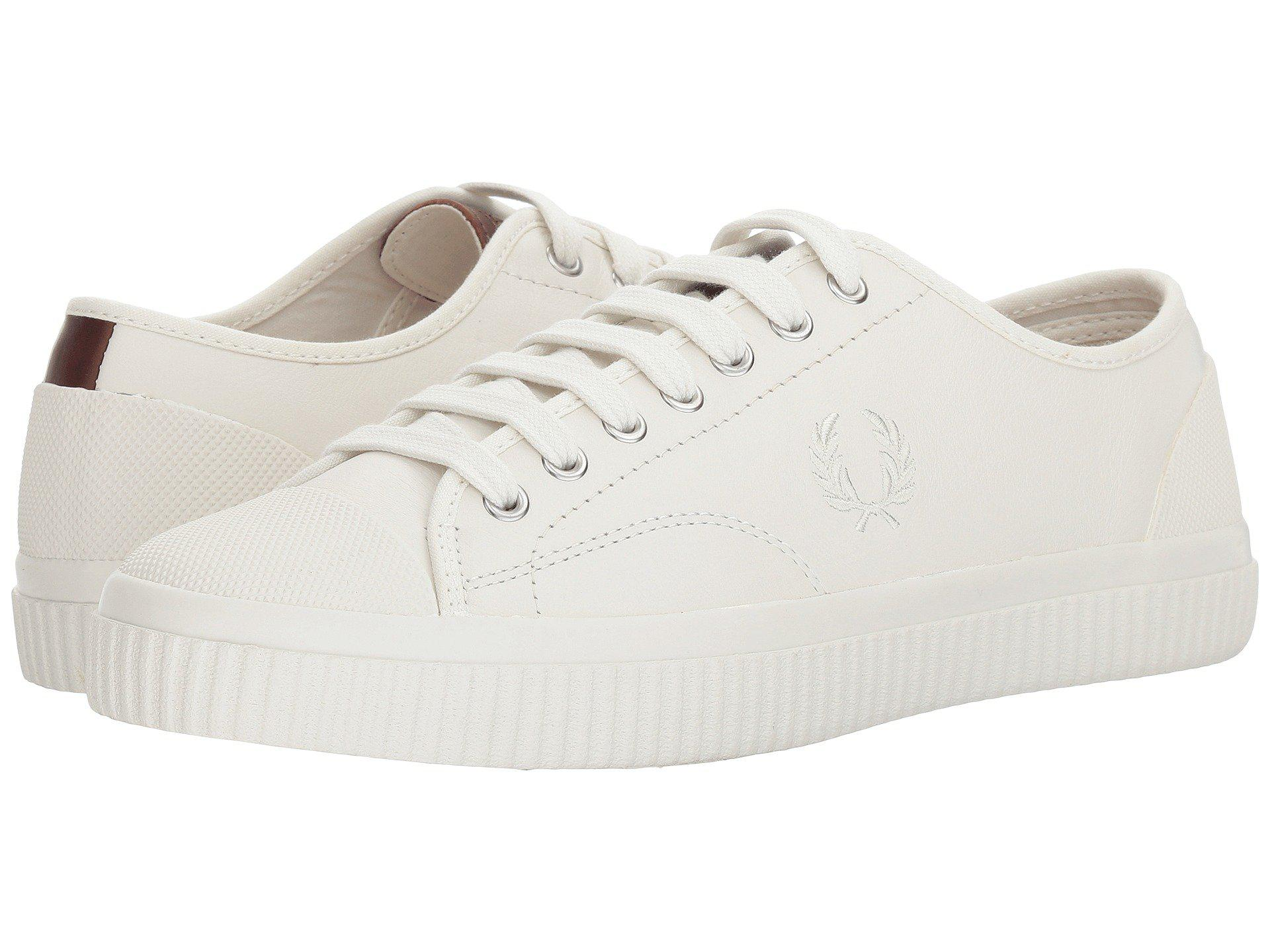 e0124c9ace5d Lyst - Fred Perry Hughes Leather (porcelain) Men s Shoes in White ...