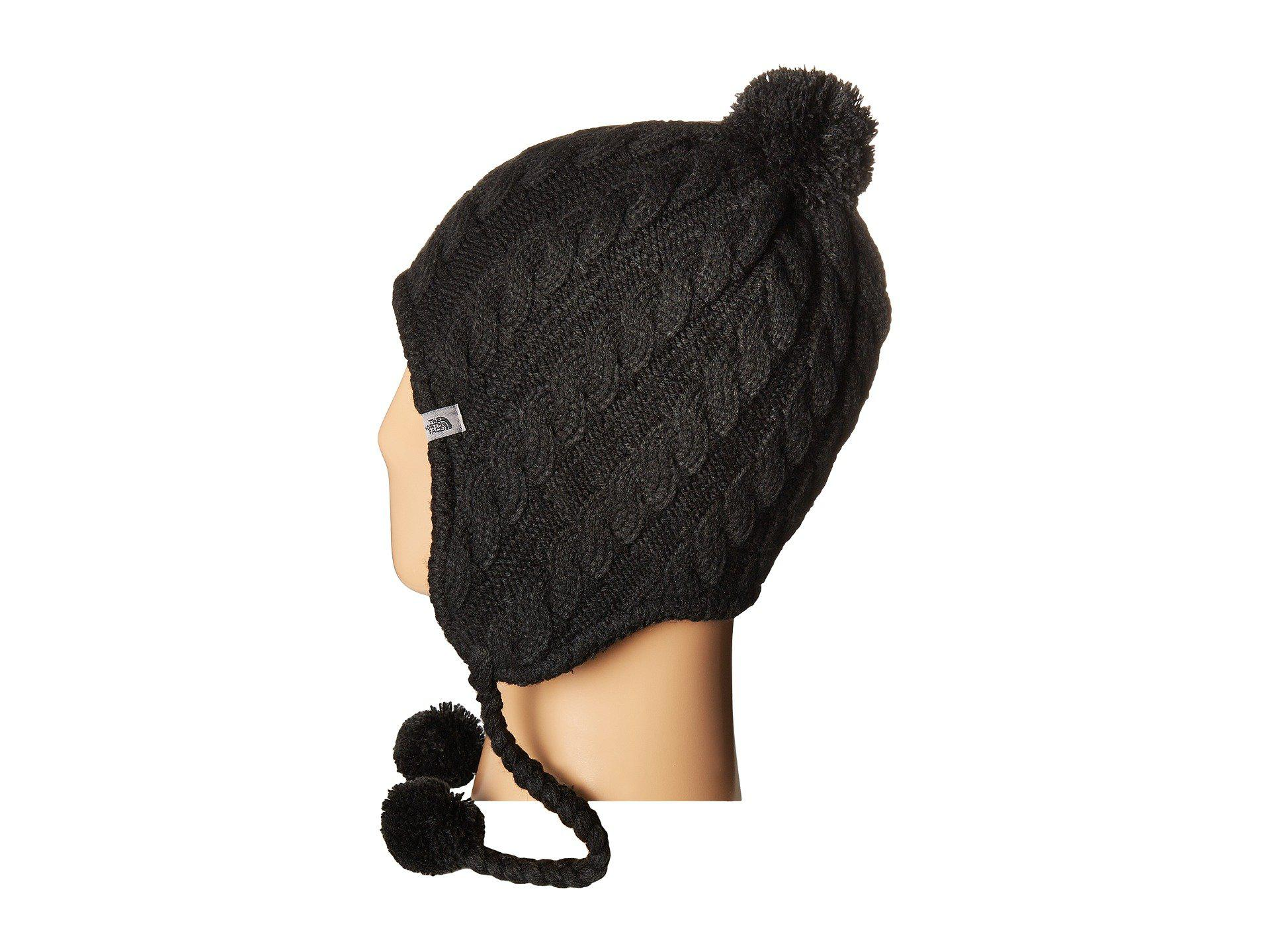 new style 64c4a 35ded The North Face Fuzzy Earflap Beanie in Black for Men - Lyst