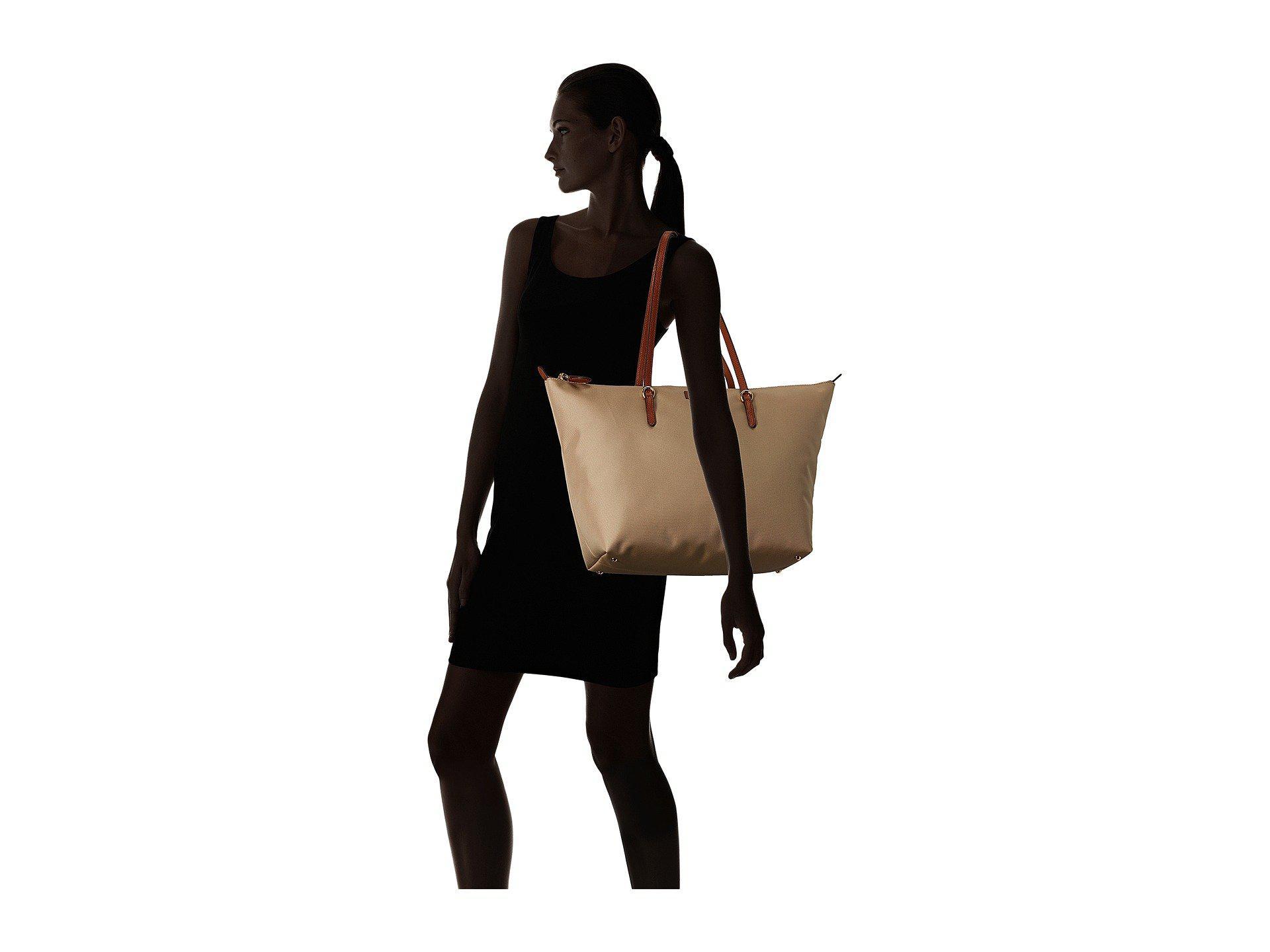 e07b6e80d Lauren by Ralph Lauren Chadwick Tote Medium (black) Tote Handbags in ...