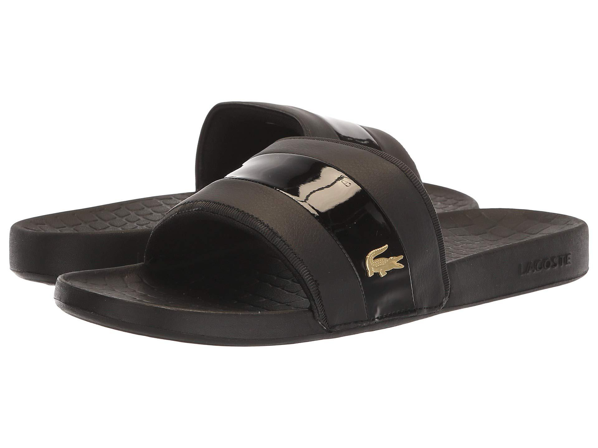 80c8d3cc77e36 Lacoste - Black Fraisier 118 1 U (green gold) Men s Shoes for Men. View  fullscreen