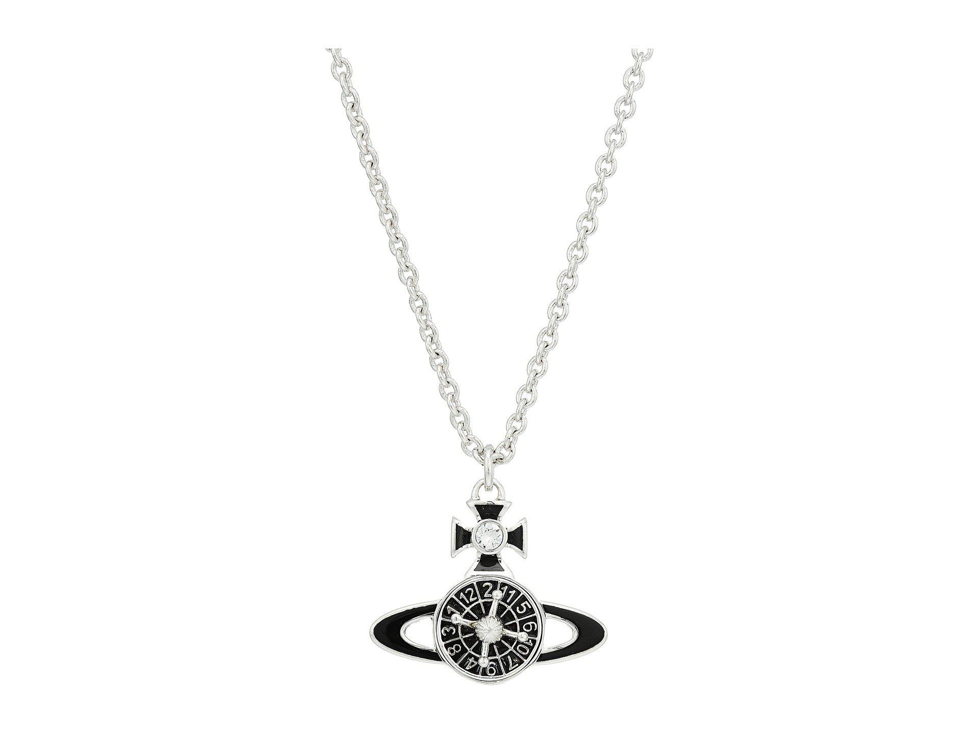 5072f52f4 Vivienne Westwood Hendrix Orb Pendant Necklace in Metallic - Lyst