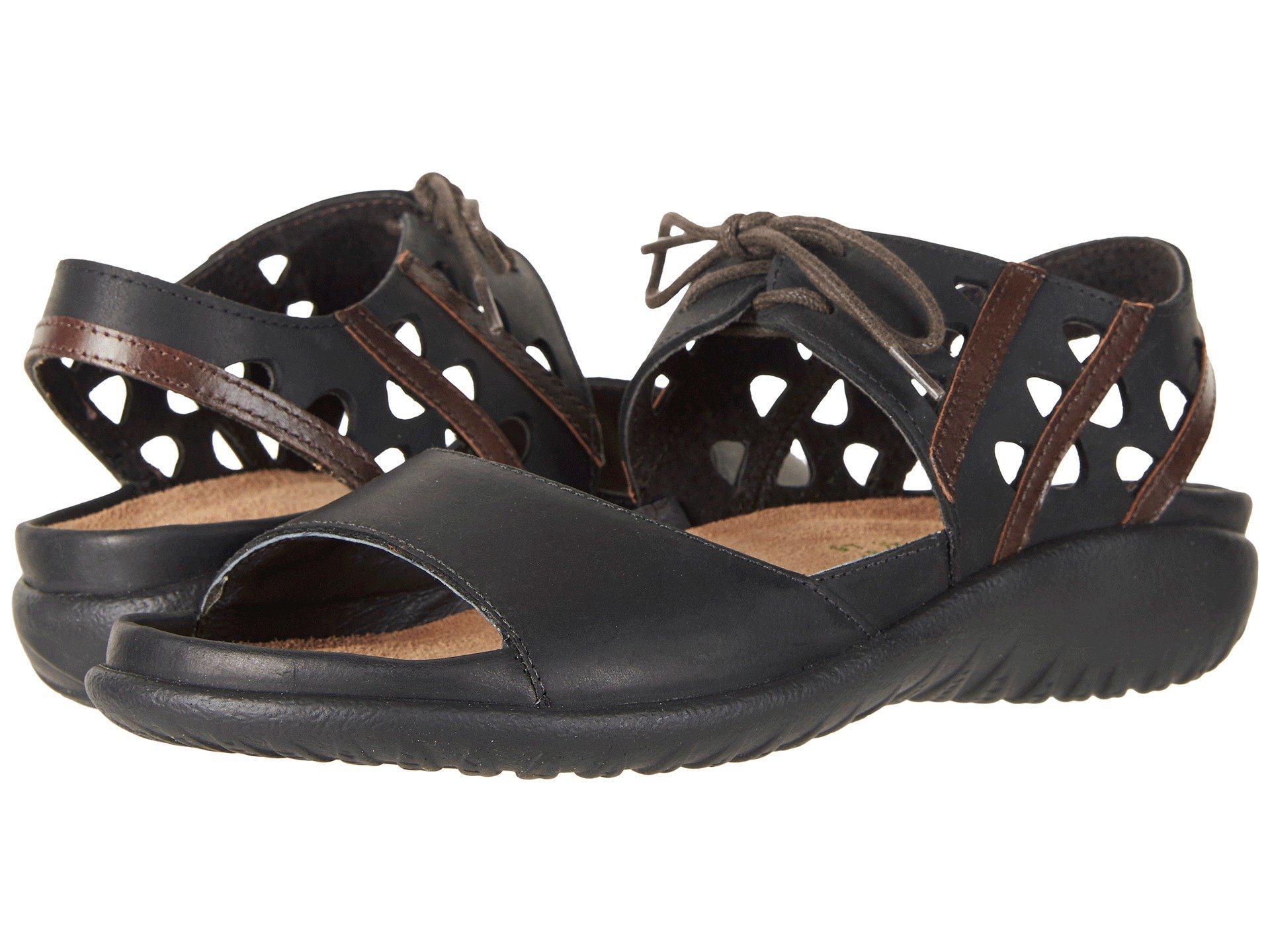 322b7708ad67 Lyst - Naot Mangere (stone Nubuck khaki Beige Leather) Women s Shoes