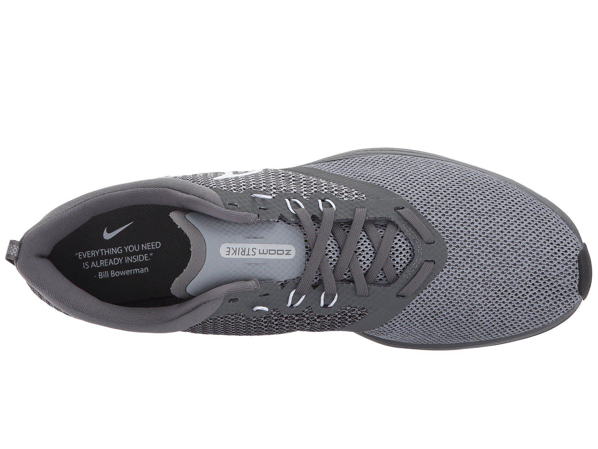 e9115838686 Lyst - Nike Zoom Strike (thunder Grey bright Crimson black) Men s ...