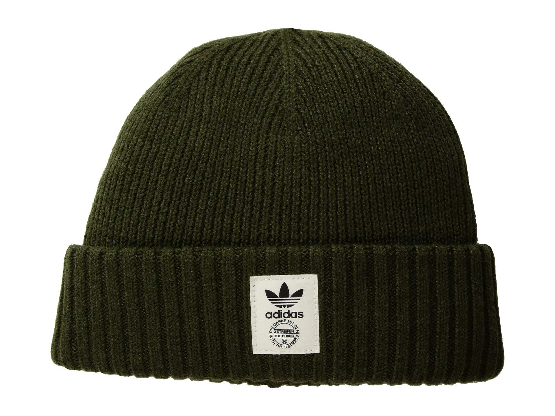 bbe8dbc1 adidas Originals Originals Utility Beanie (black/off-white/black ...