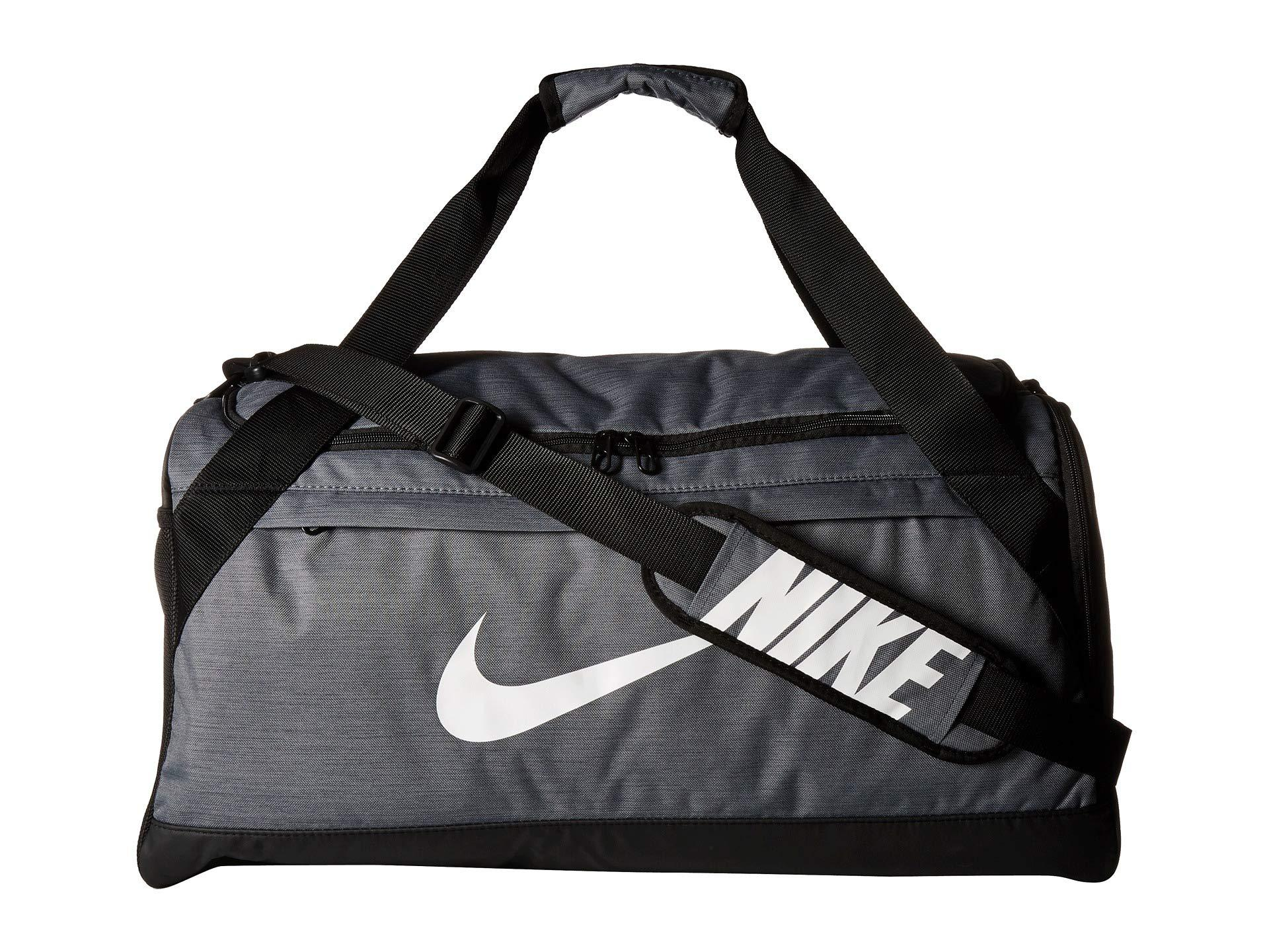 Nike. Men s Brasilia Medium Duffel Bag (university Red black white) ... 1d0334591d211